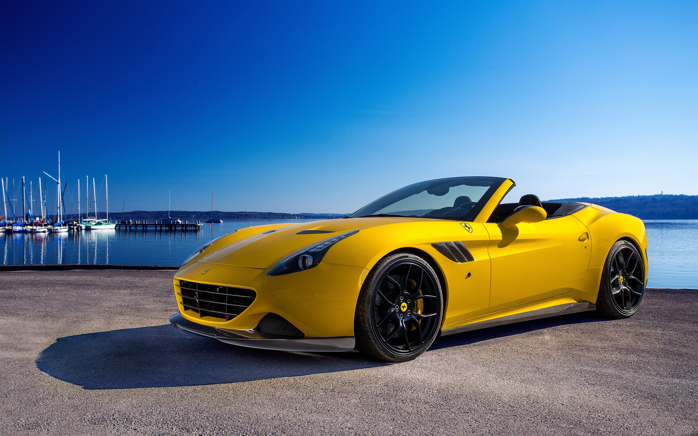 Wallpaper Novitec Rosso Ferrari california T