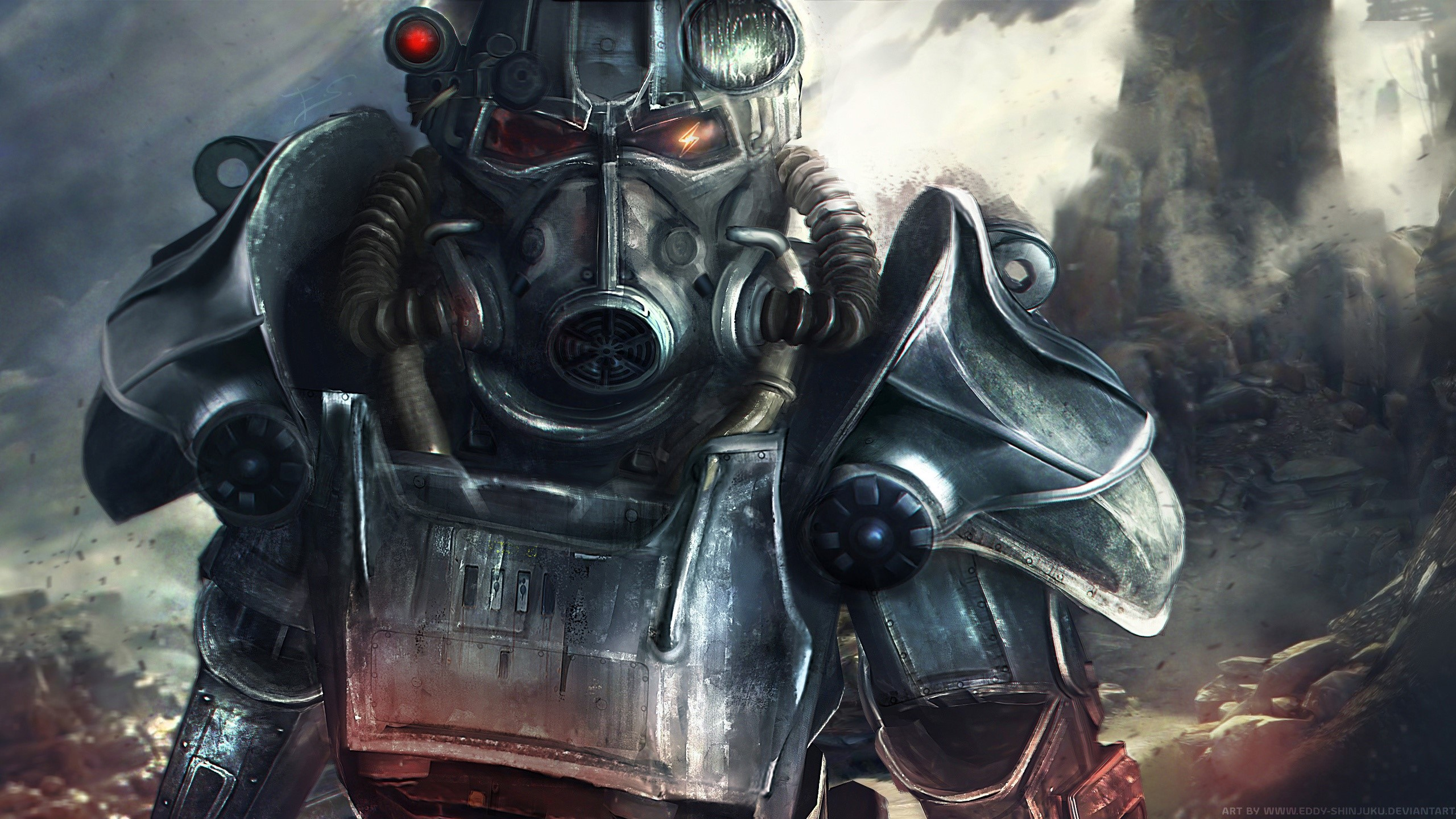 Nrc Ranger Of Fallout 4 Wallpaper 2k Quad Hd Id2443