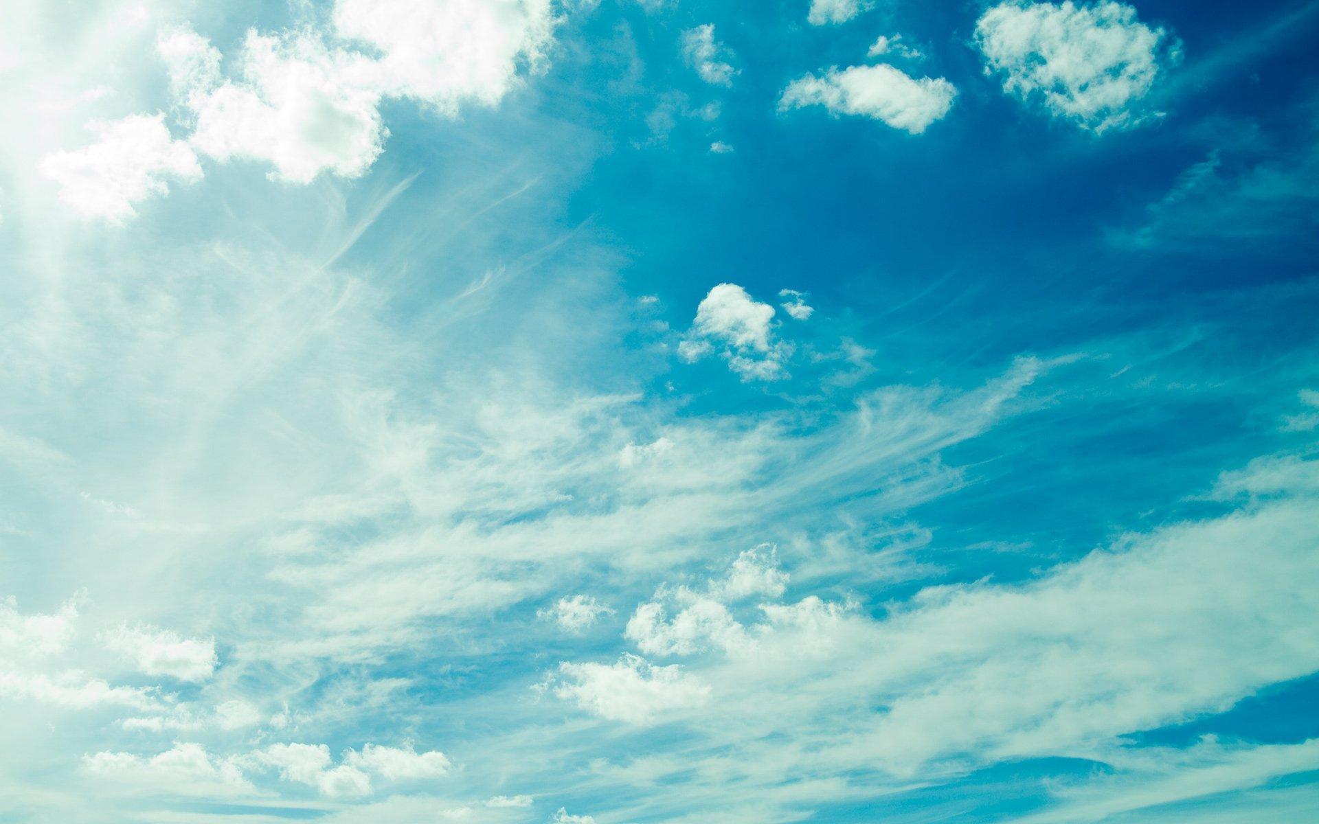 Fondos de pantalla Nubes maravillosas