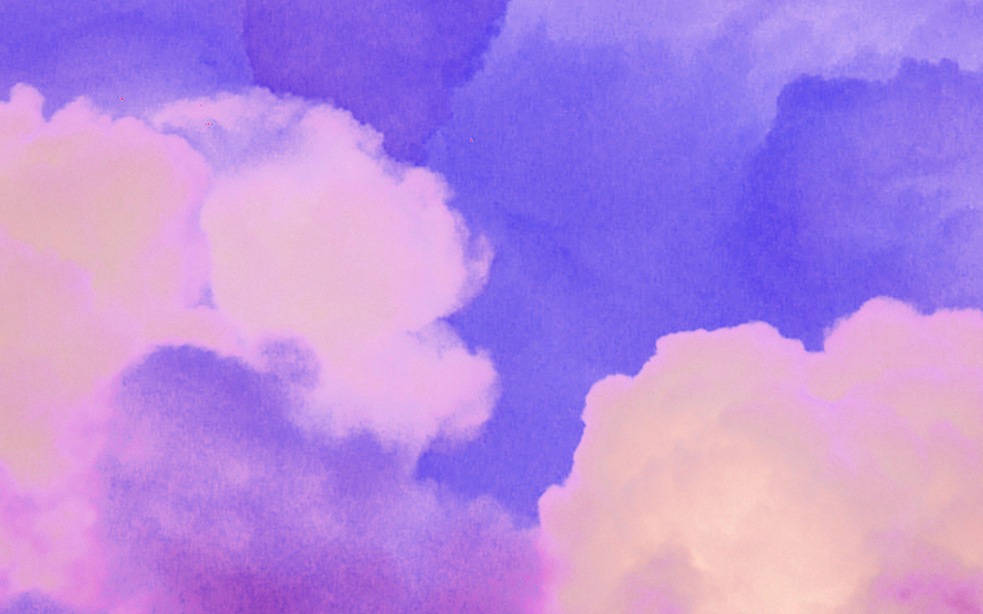 Fondos de pantalla Nubes moradas