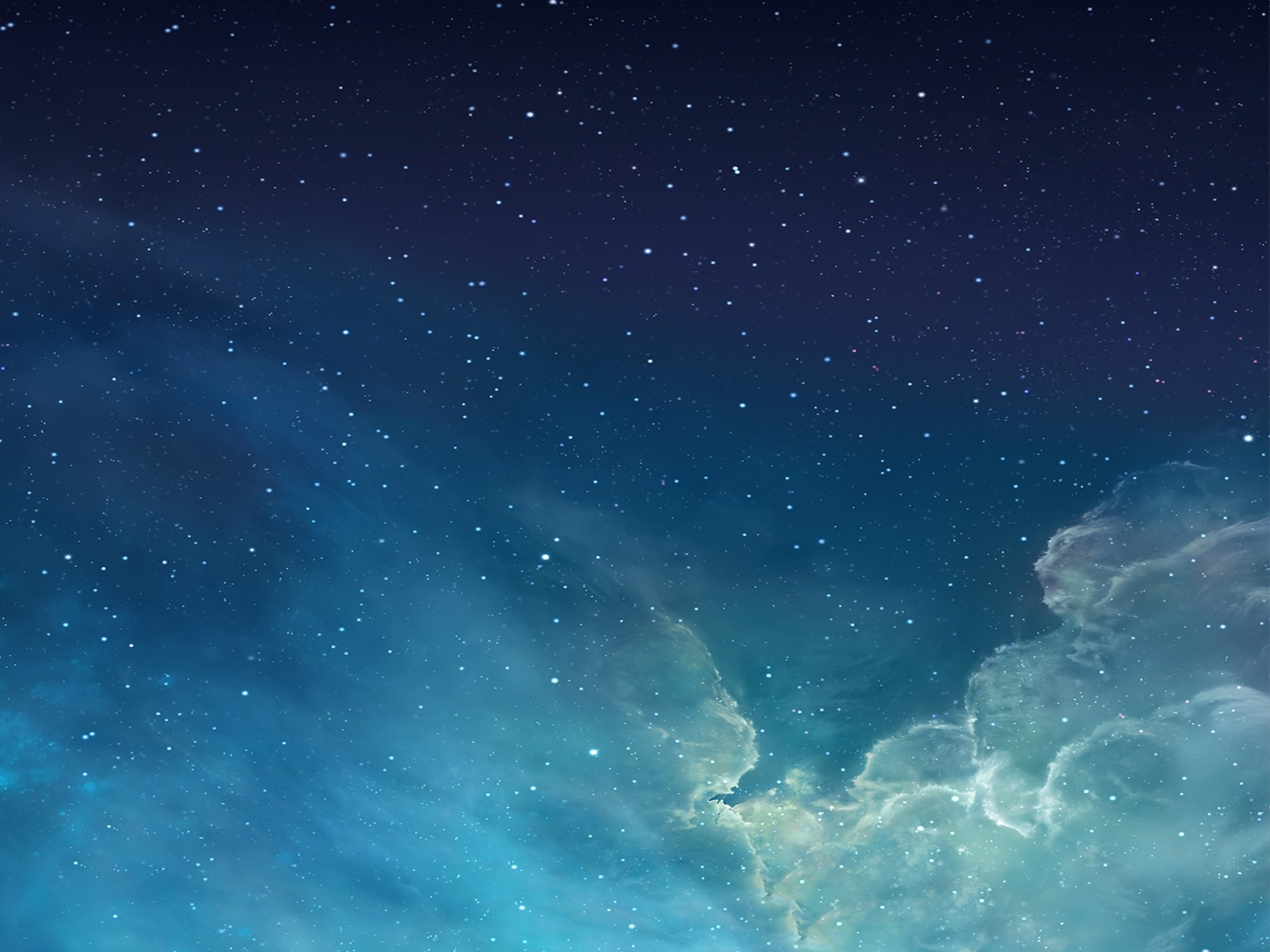 Wallpaper Clouds and stars