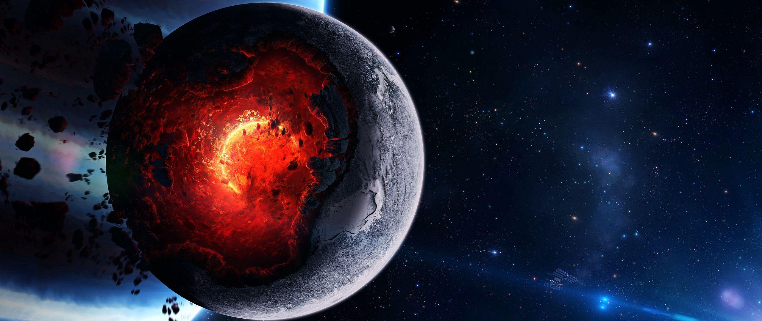Fondos de pantalla Nucleo de la tierra