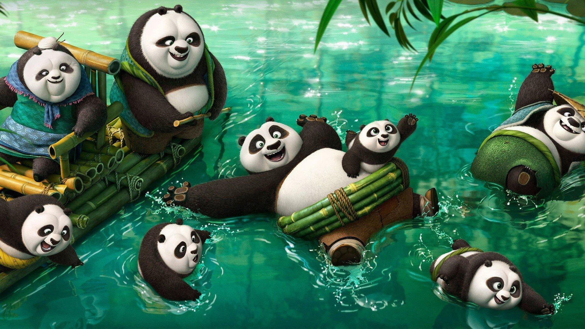 Wallpaper New characters of Kung fu Panda 3
