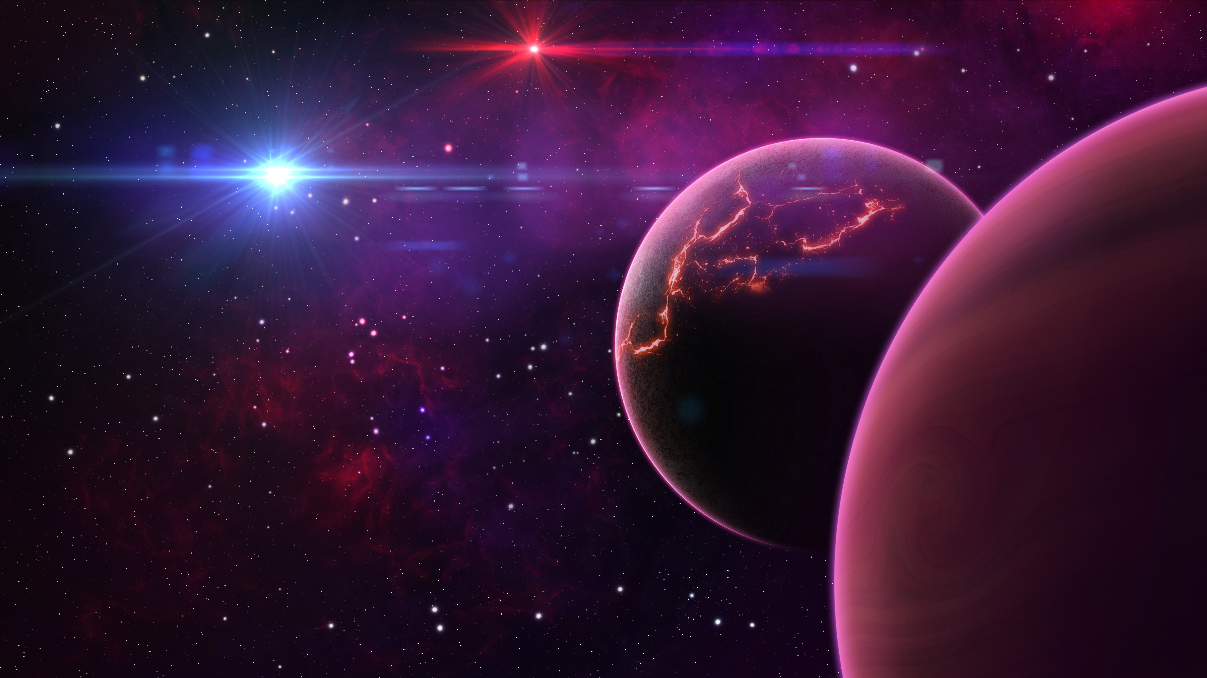 Wallpaper New planets in the universe