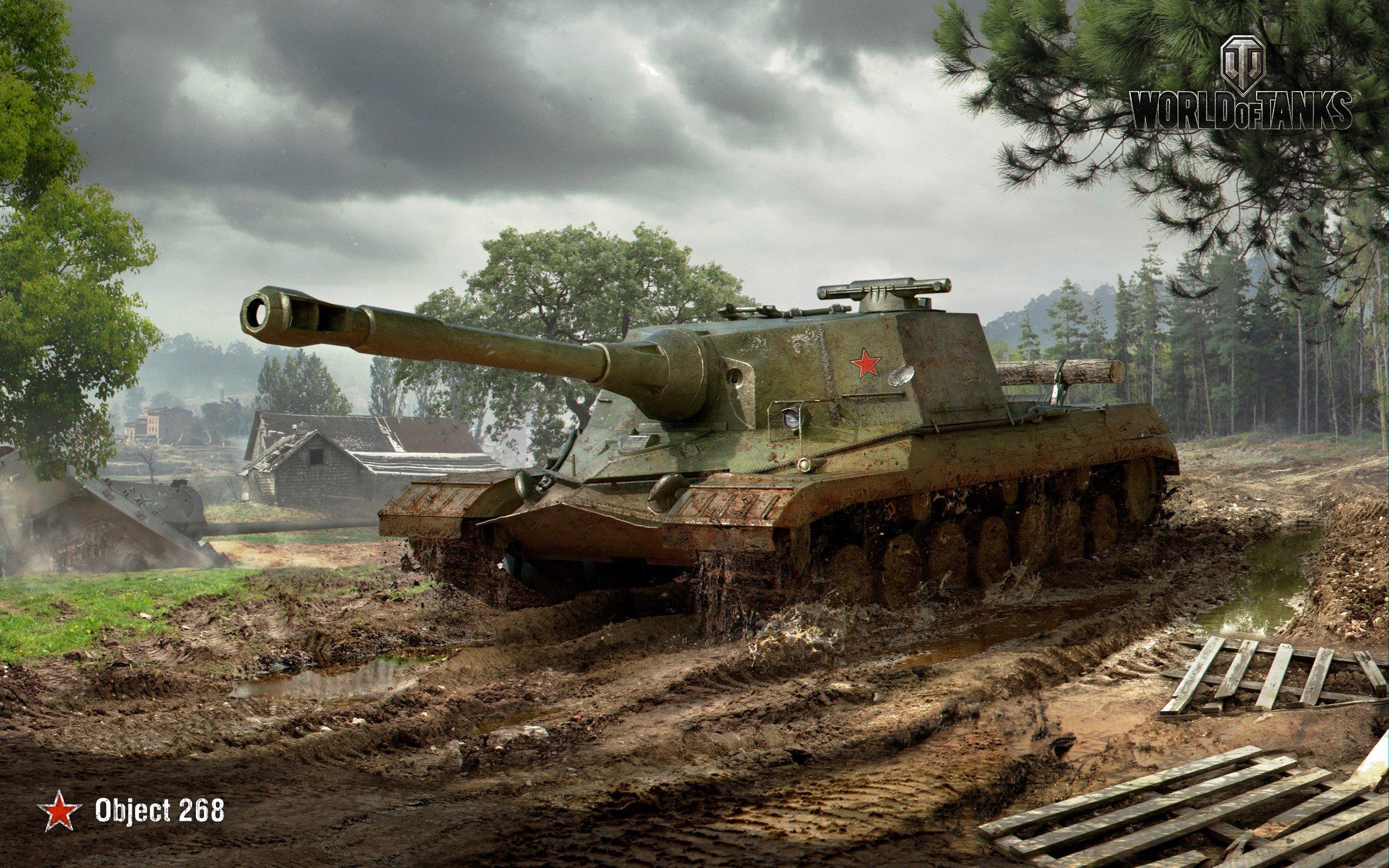 Wallpaper Object 268 of World Of Tanks