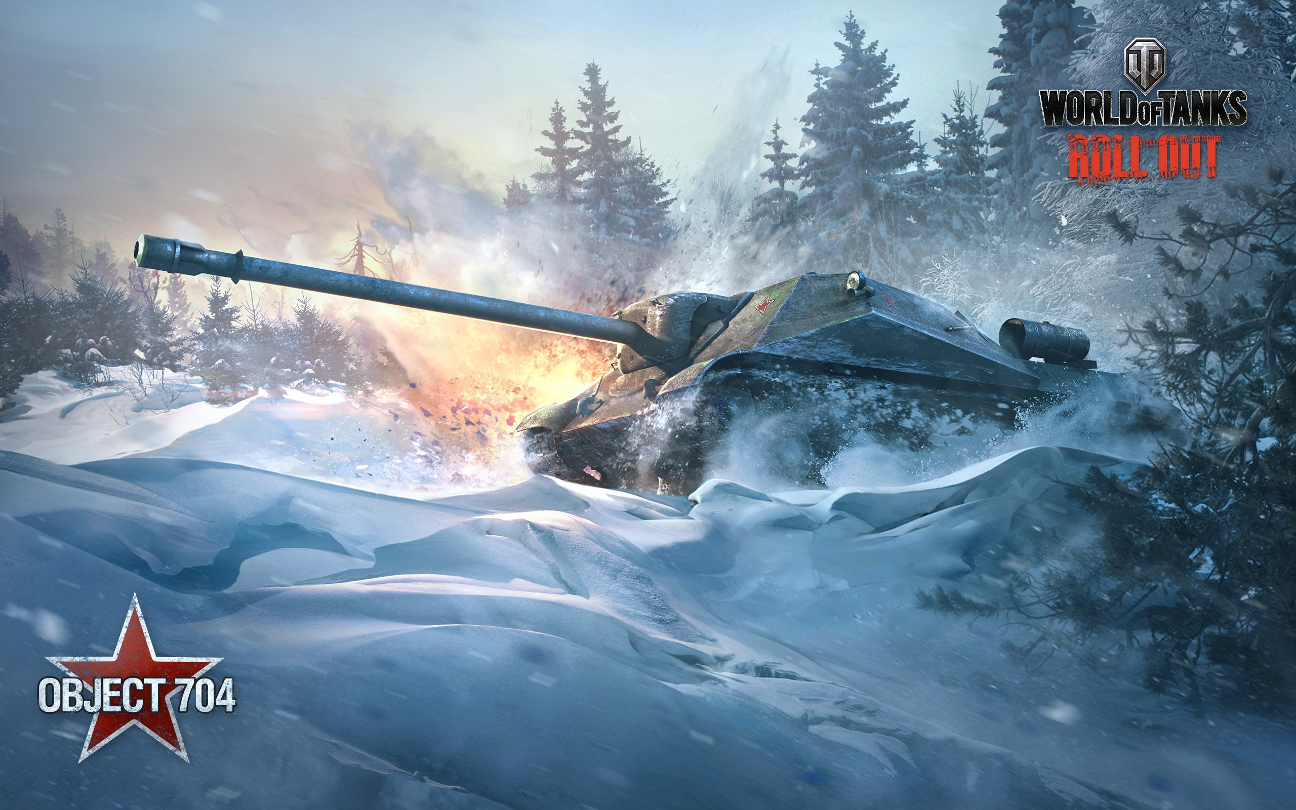 Wallpaper Object 704 World of tanks