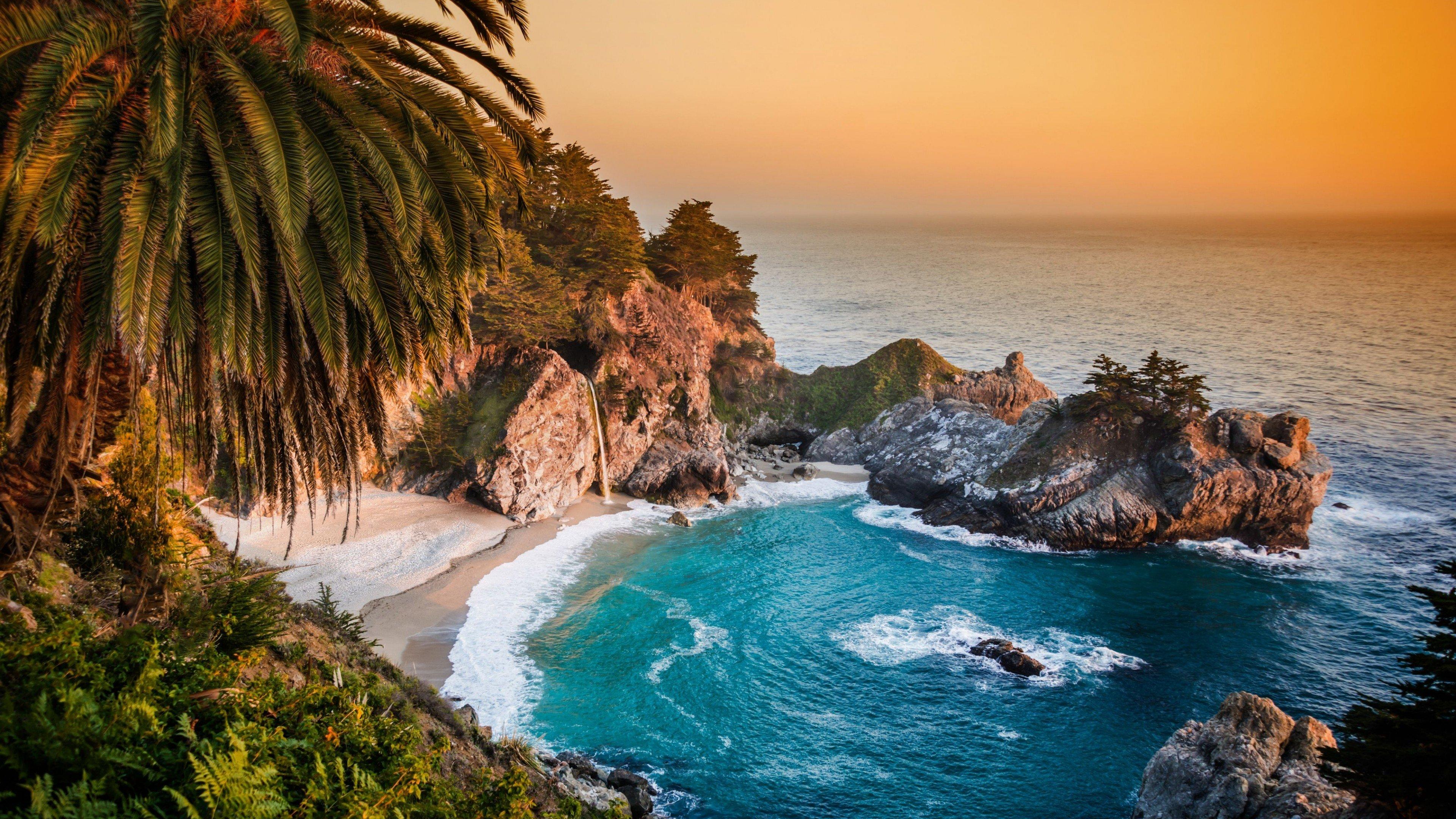 Fondos de pantalla Oceano pacifico de California
