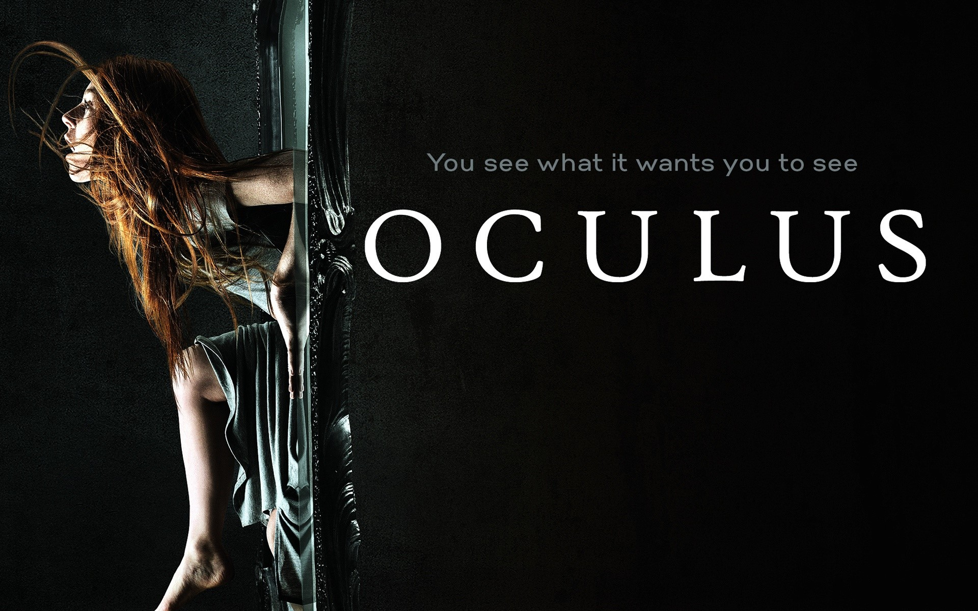 Wallpaper Oculus The reflection of evil