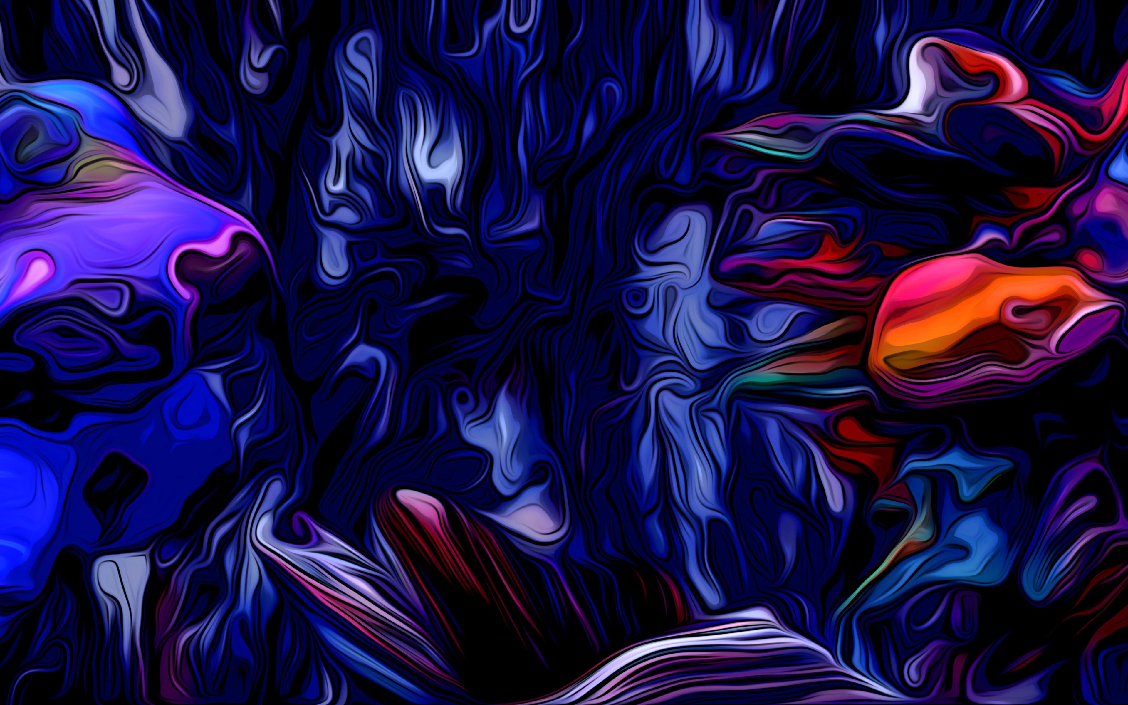 Fondos de pantalla Ondas abstractas de colores