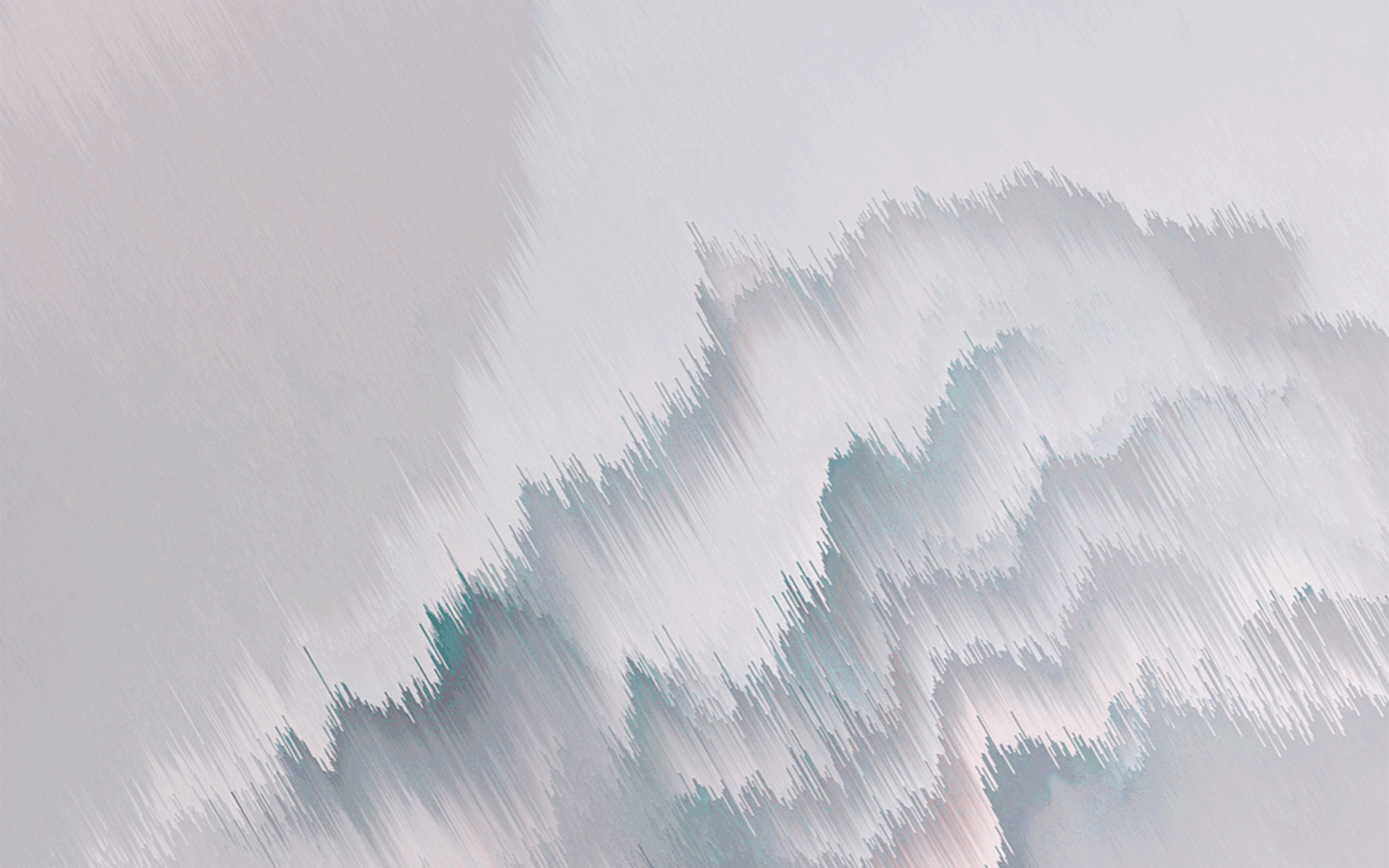 Wallpaper Waves with abstract distortion