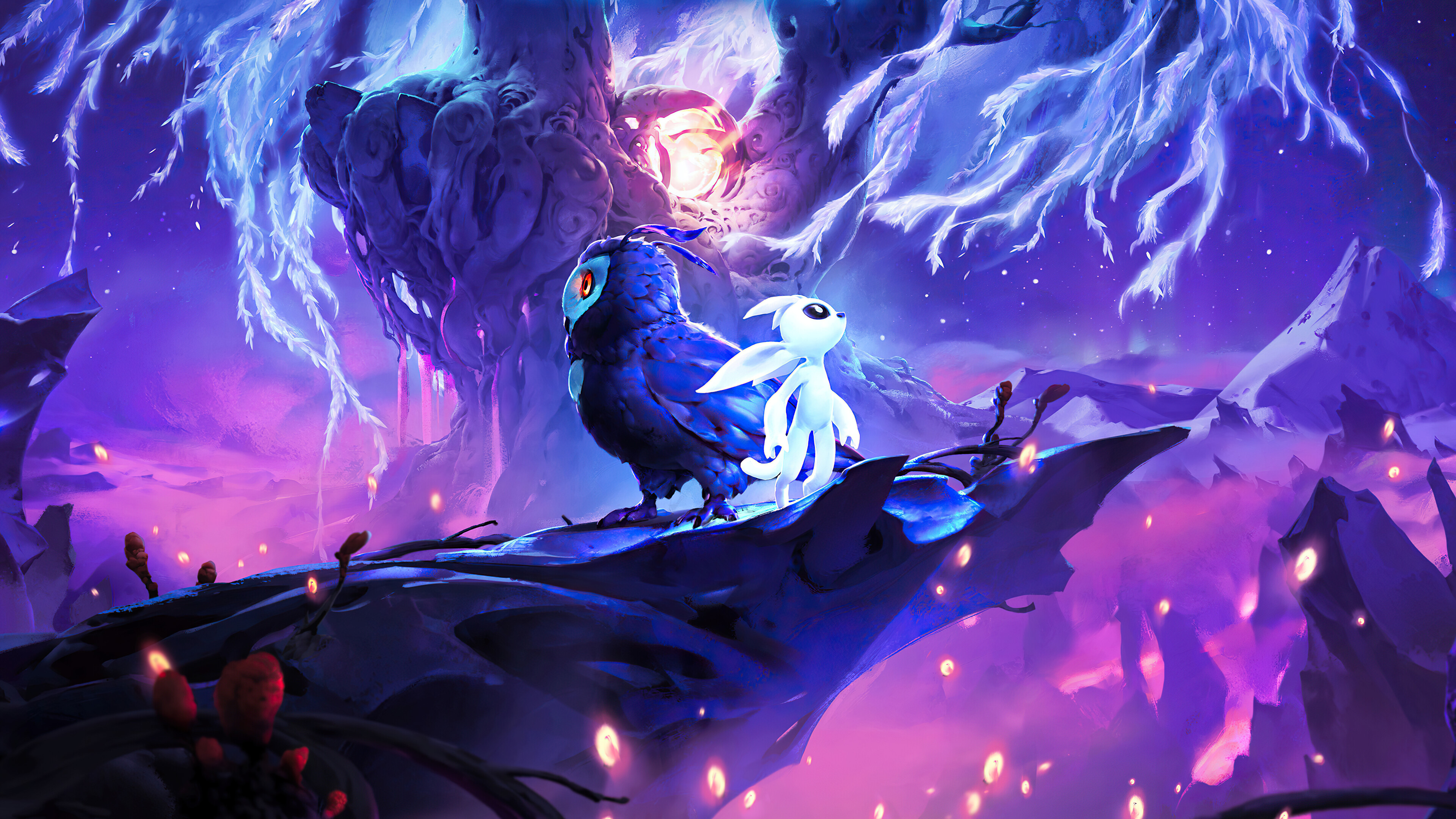 Wallpaper Ori and the Will of the Wisps