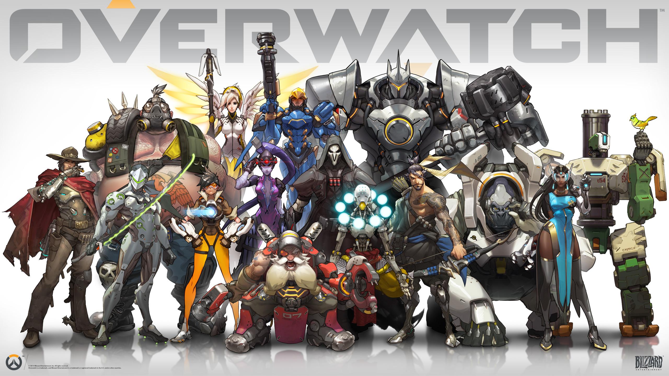 Wallpaper Overwatch Characters