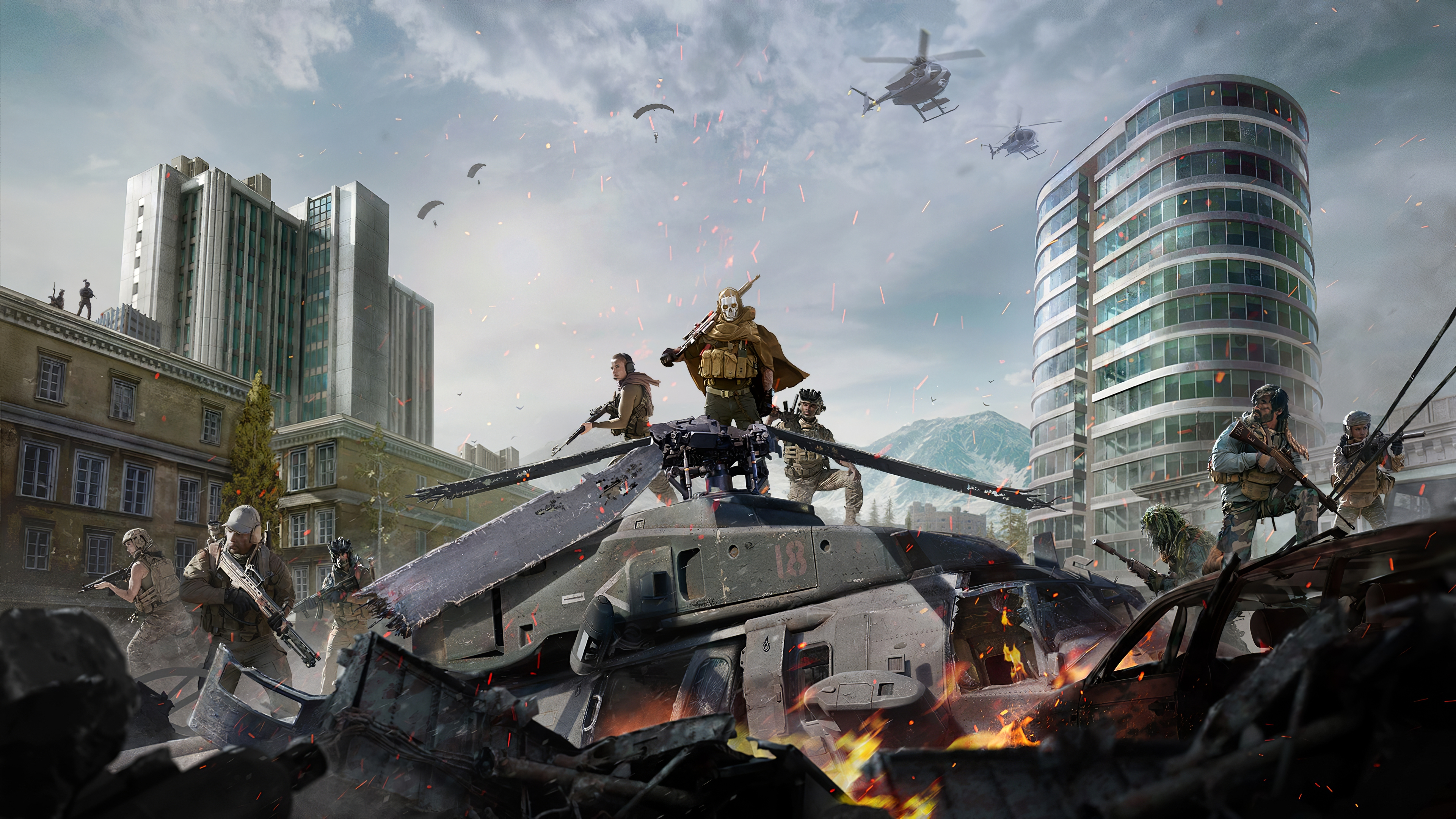 Wallpaper Landscape of Call Of Duty Warzone