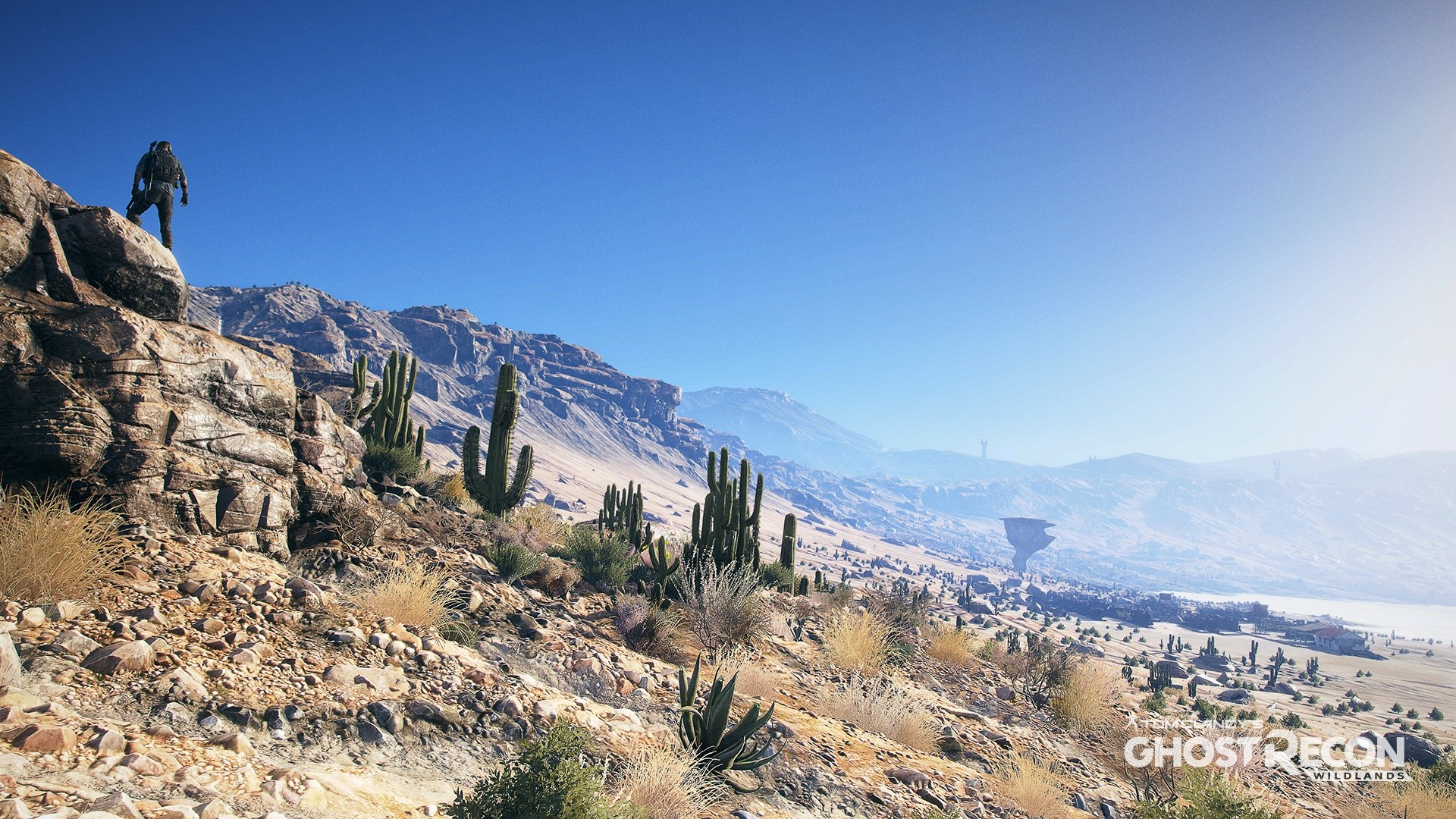 Wallpaper Landscape of Ghost Recon 3