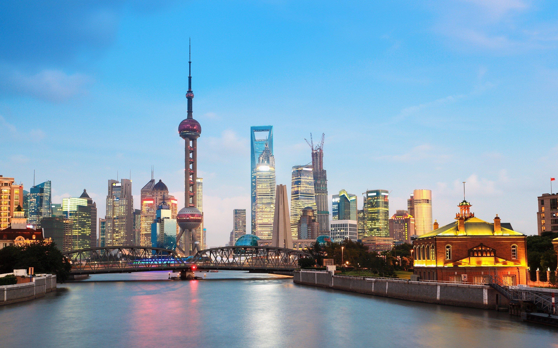 Wallpaper Cityscape in Shanghai