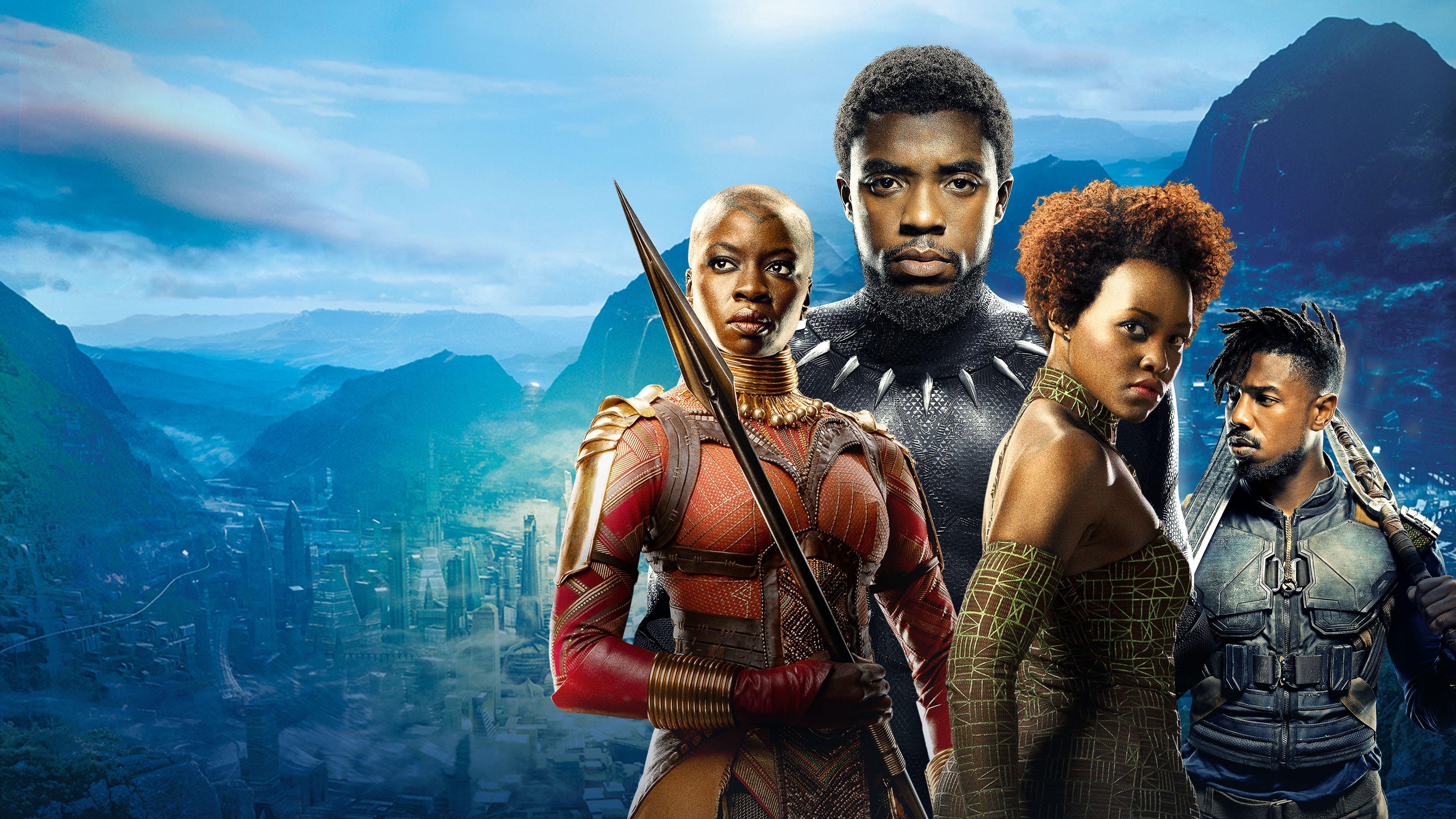 Wallpaper Black Panther Movie