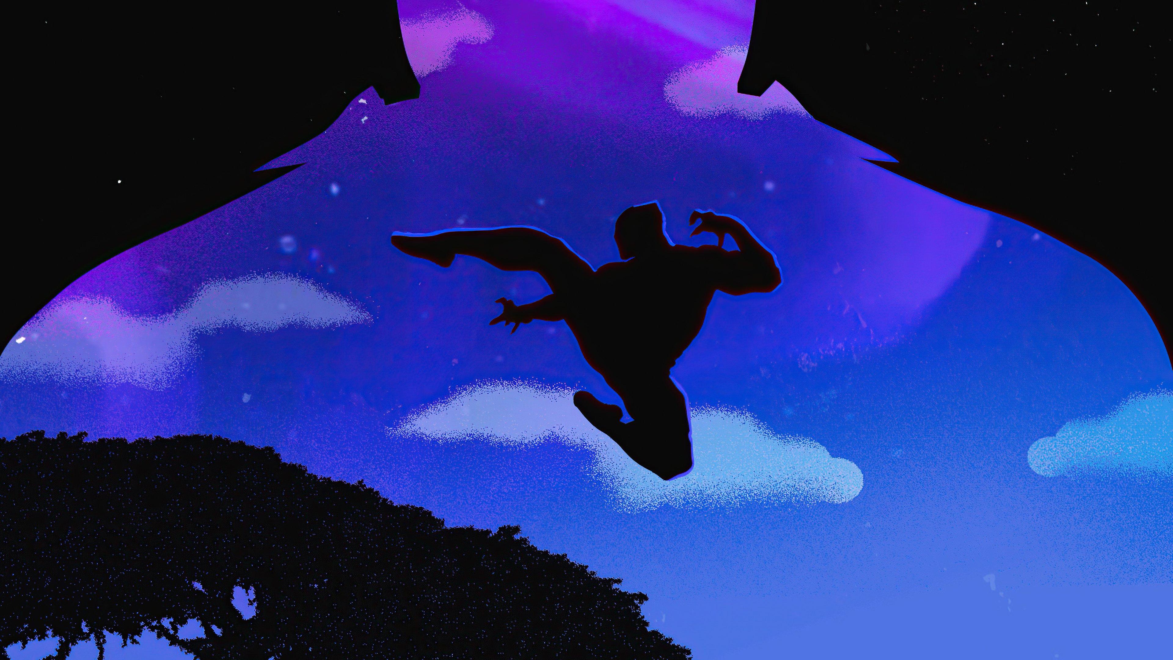 Fondos de pantalla Pantera negra saltando