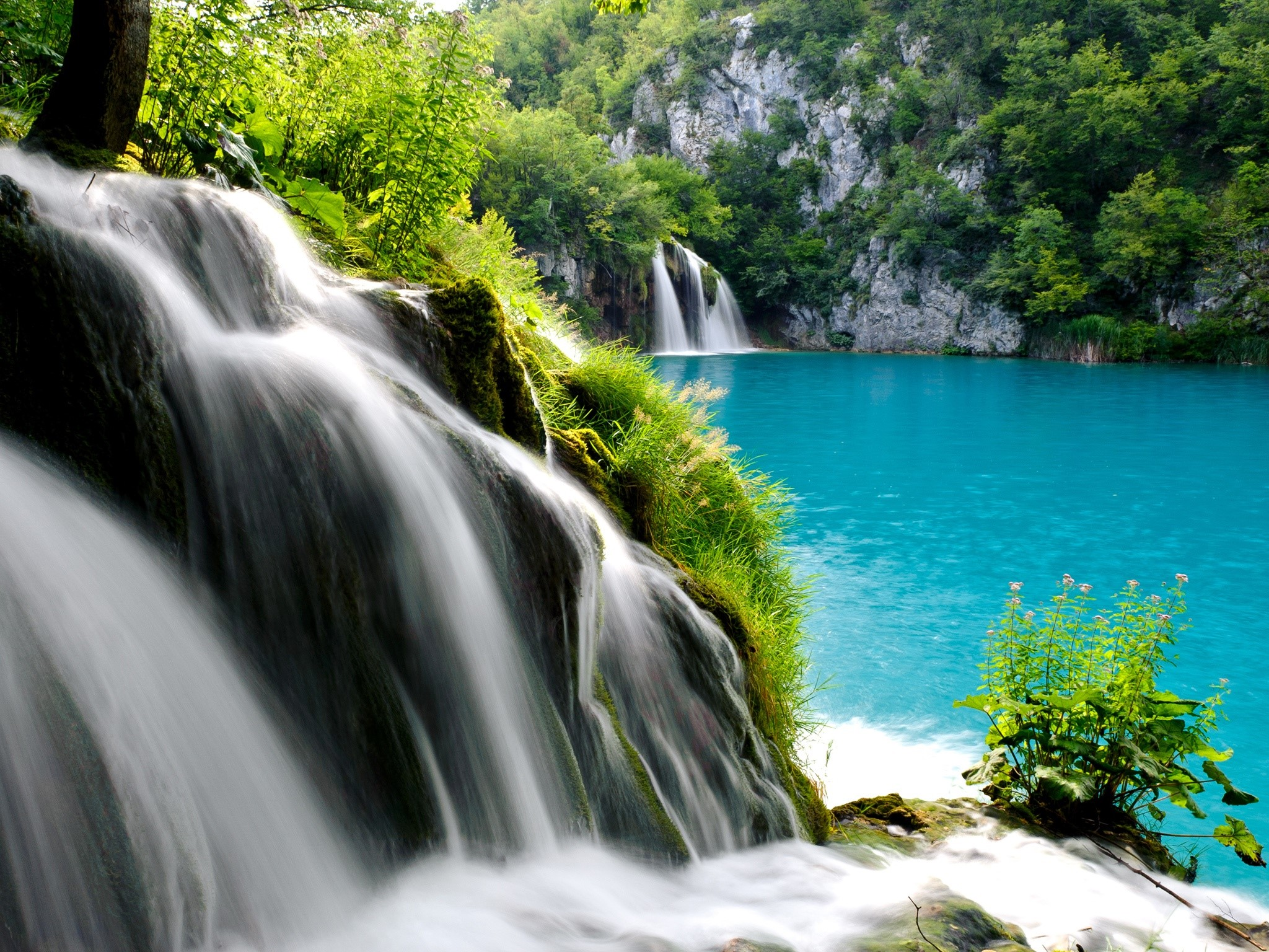 Wallpaper Plitvice Lakes National Park