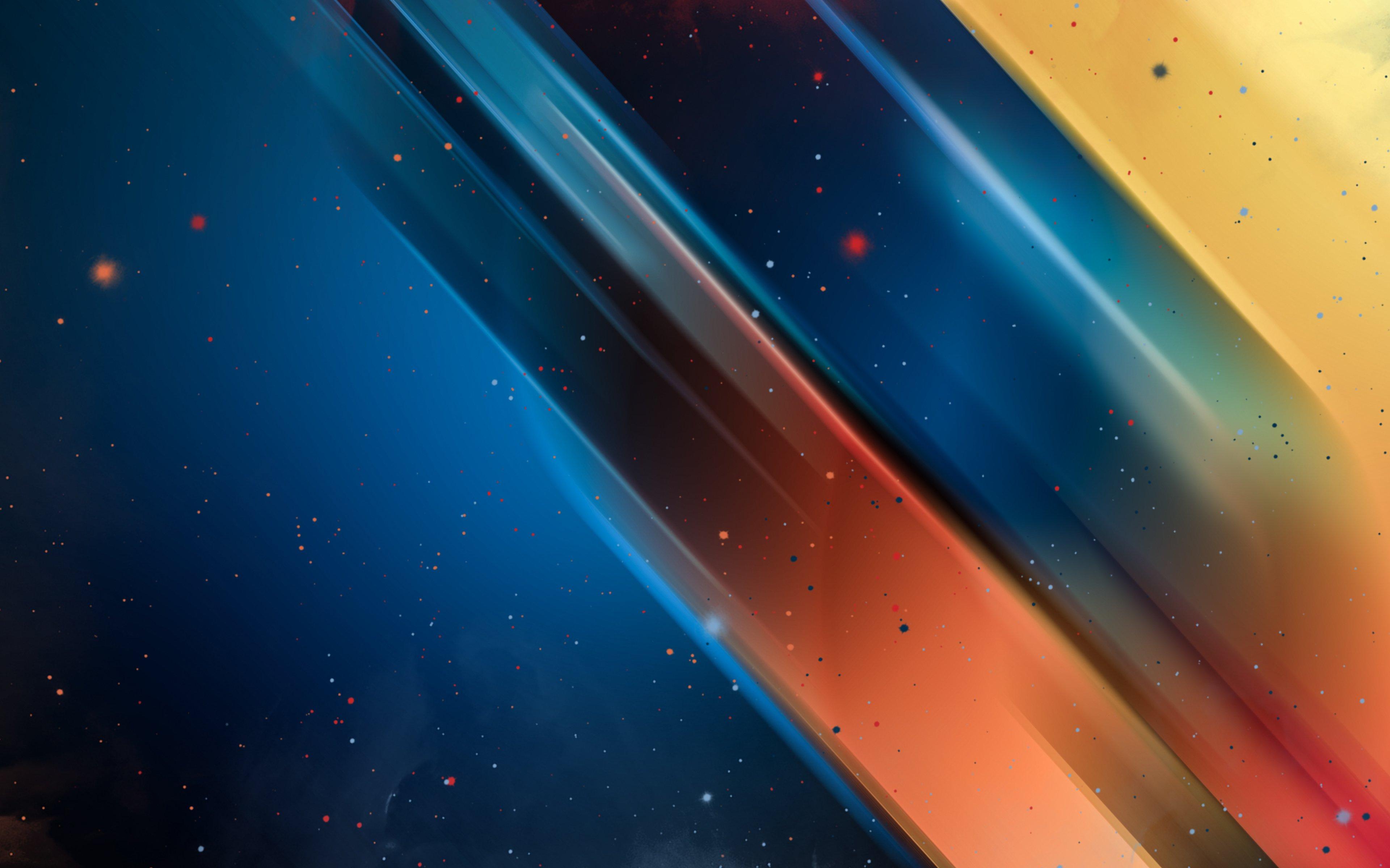 Fondos de pantalla Particulas y colores