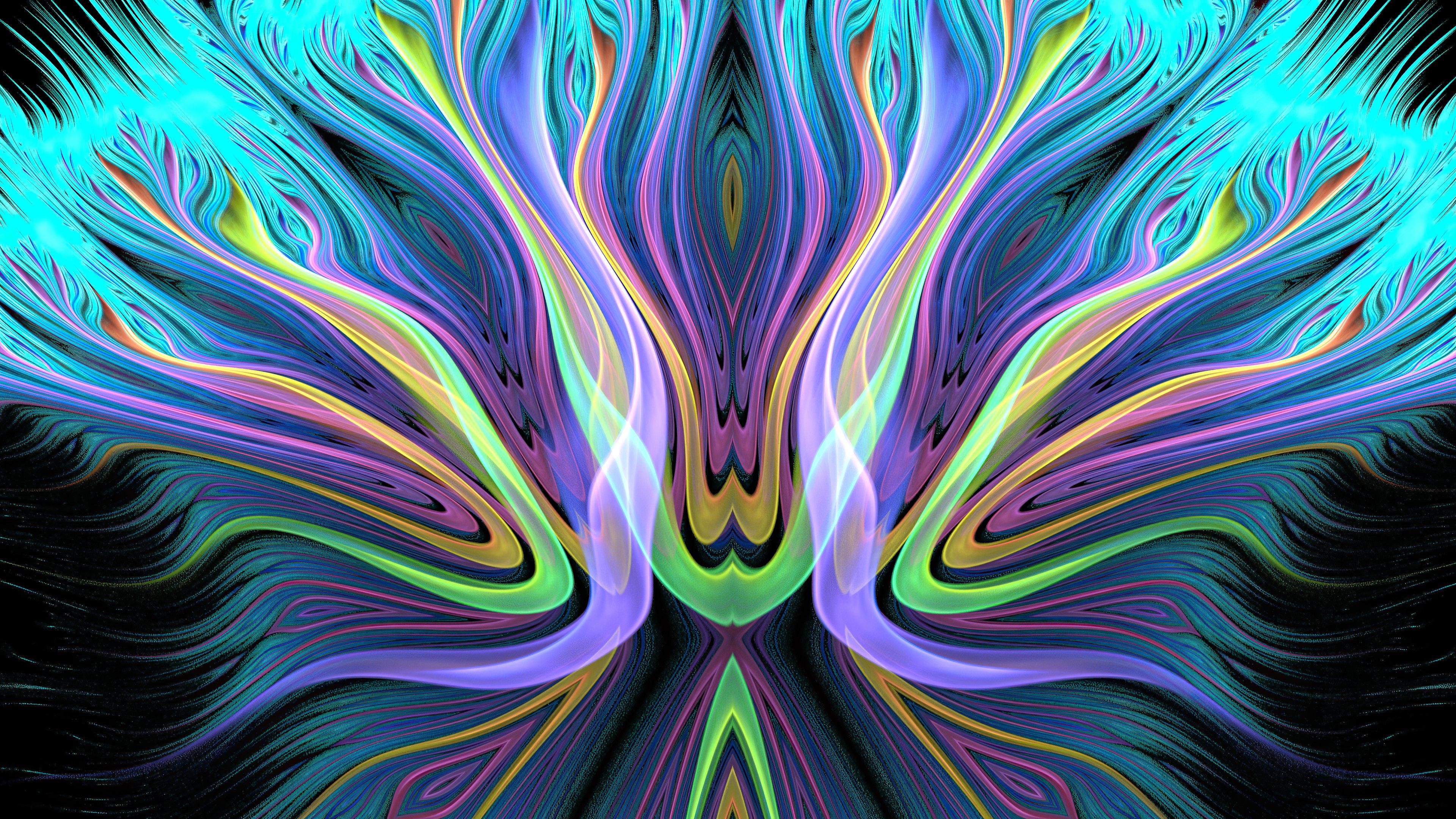 Fondos de pantalla Patrón colorido abstracto
