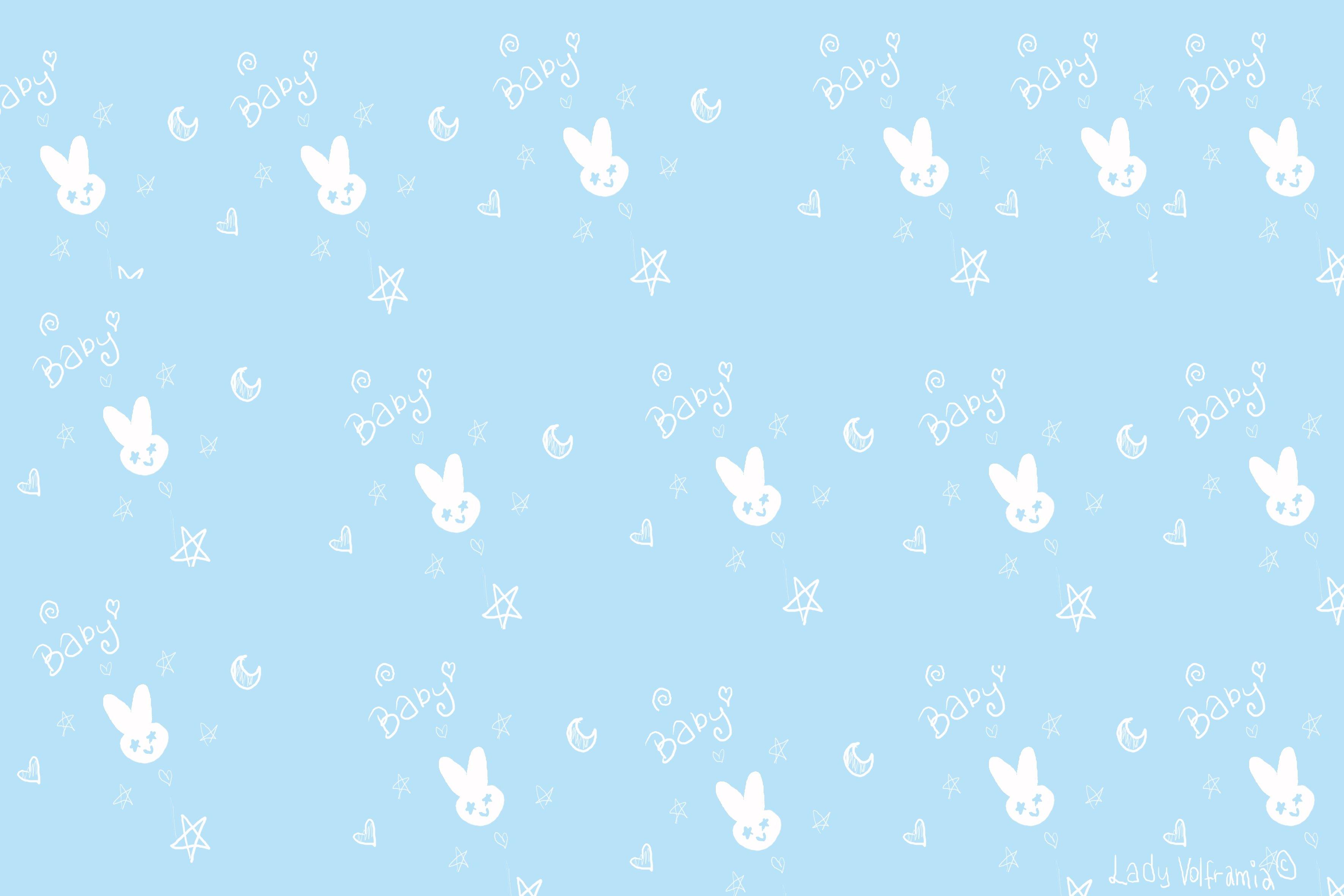 Fondos de pantalla Patrón de conejo arte