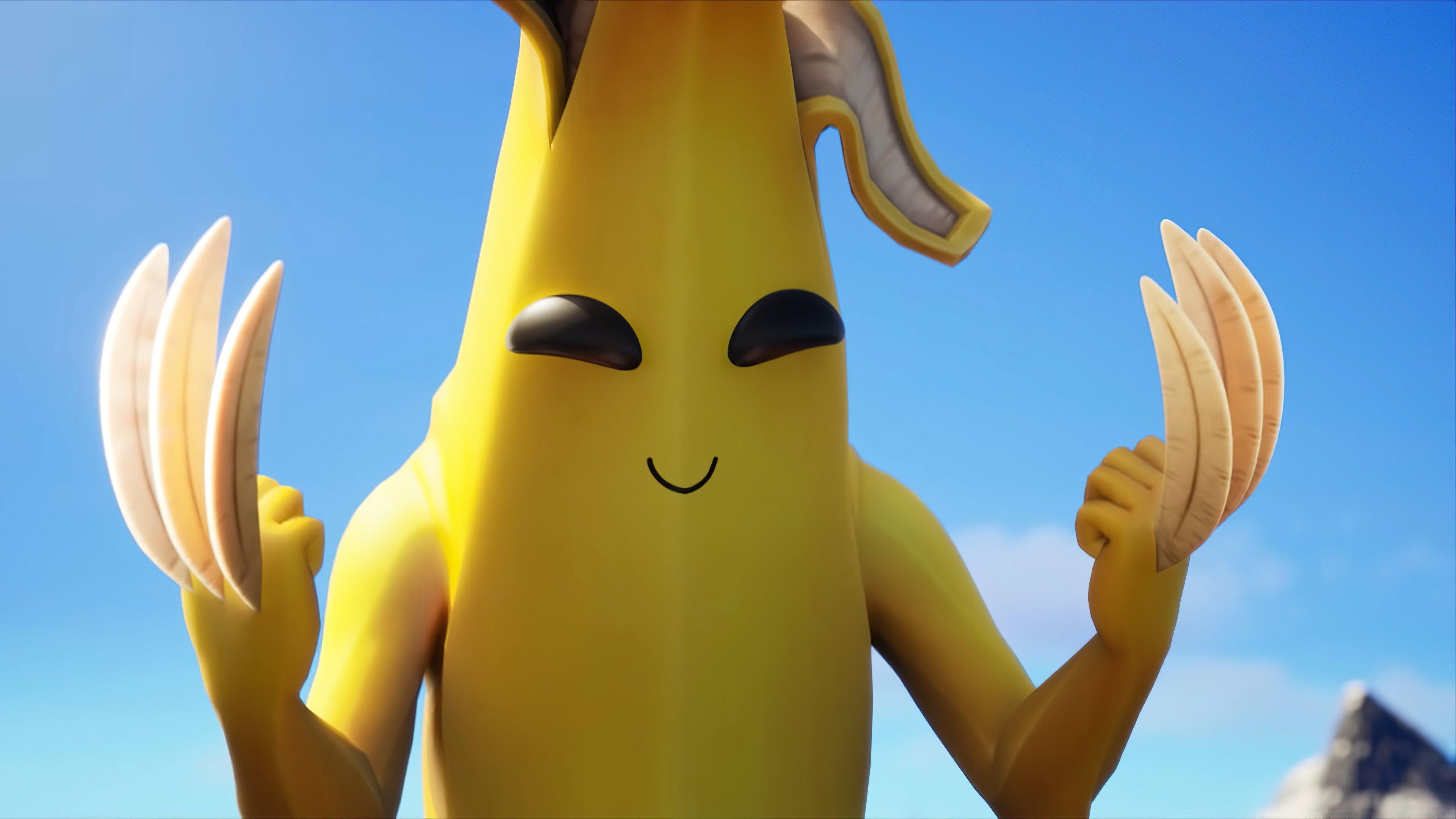 Fondos de pantalla Peely Banana Claw de Fortnite