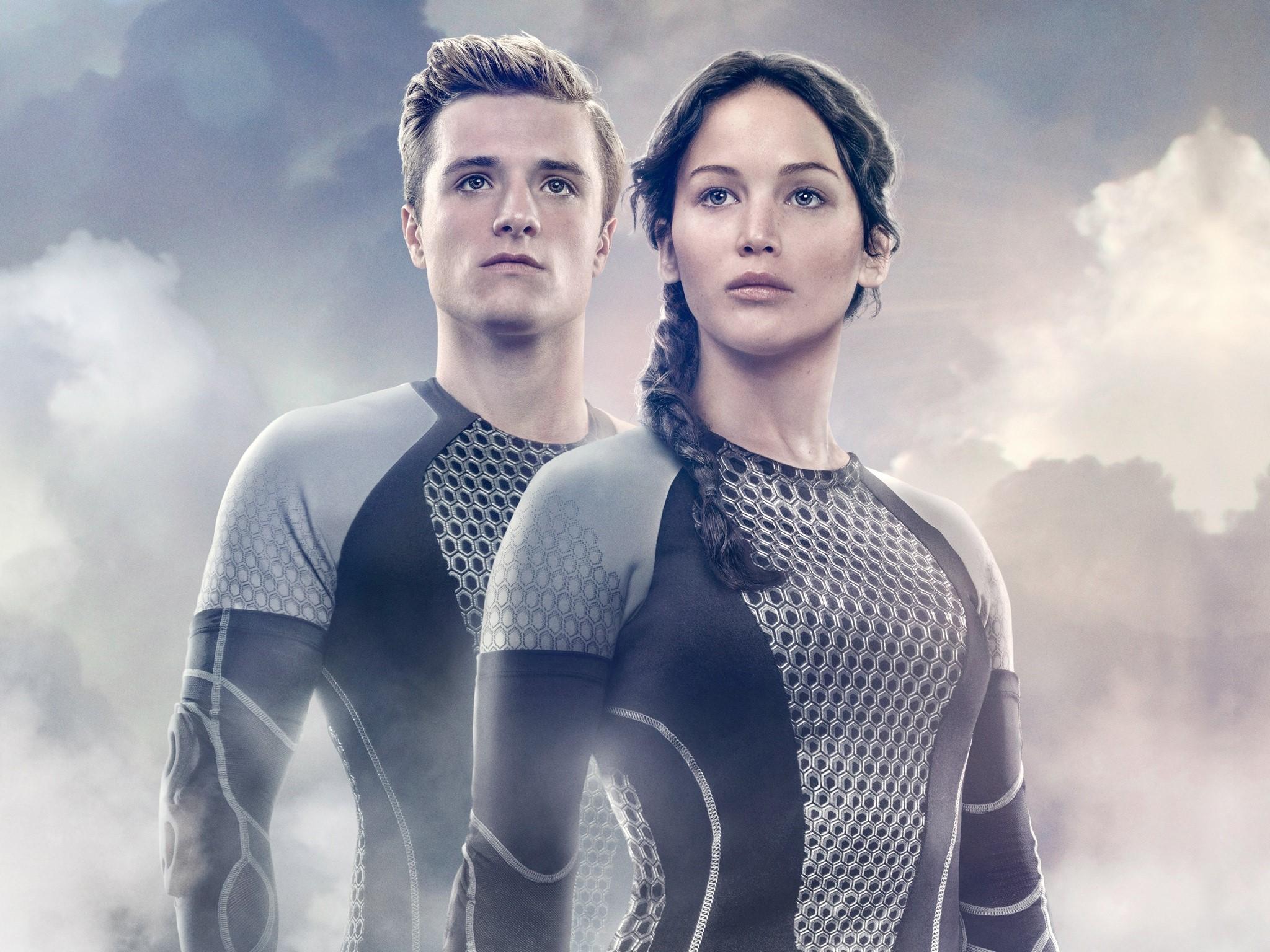 Fondos de pantalla Peeta y Katniss para En llamas
