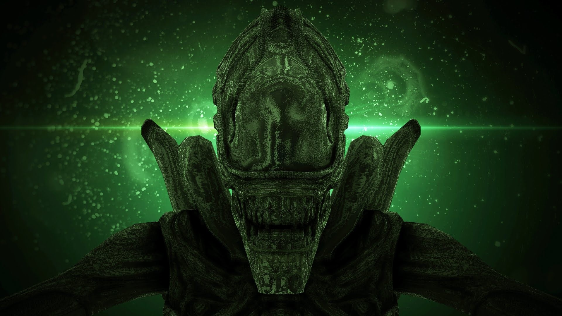 Wallpaper Alien movie Convenant