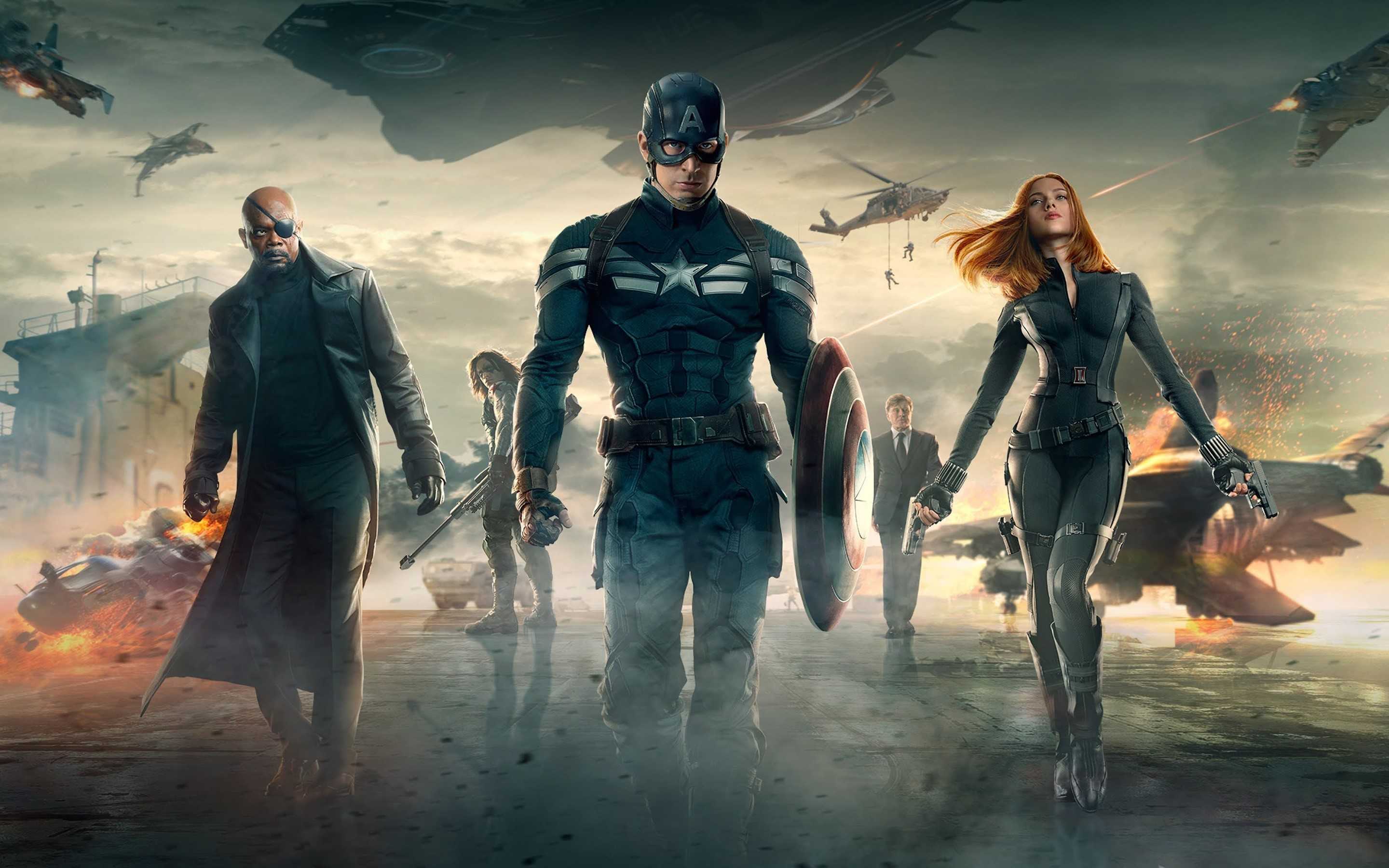 Wallpaper Movie Captain America The Winter Soldier