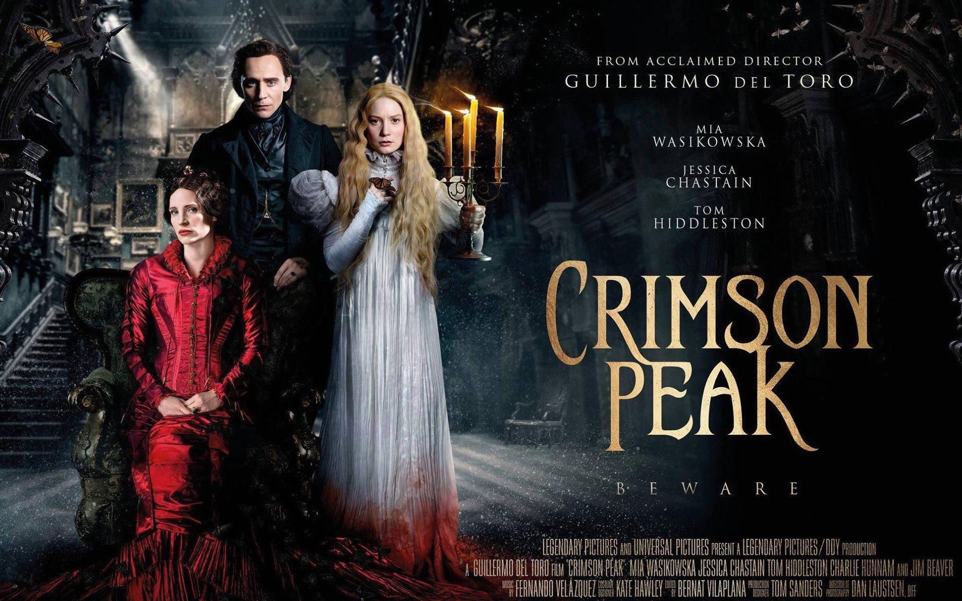 Wallpaper Crimson Peak movie