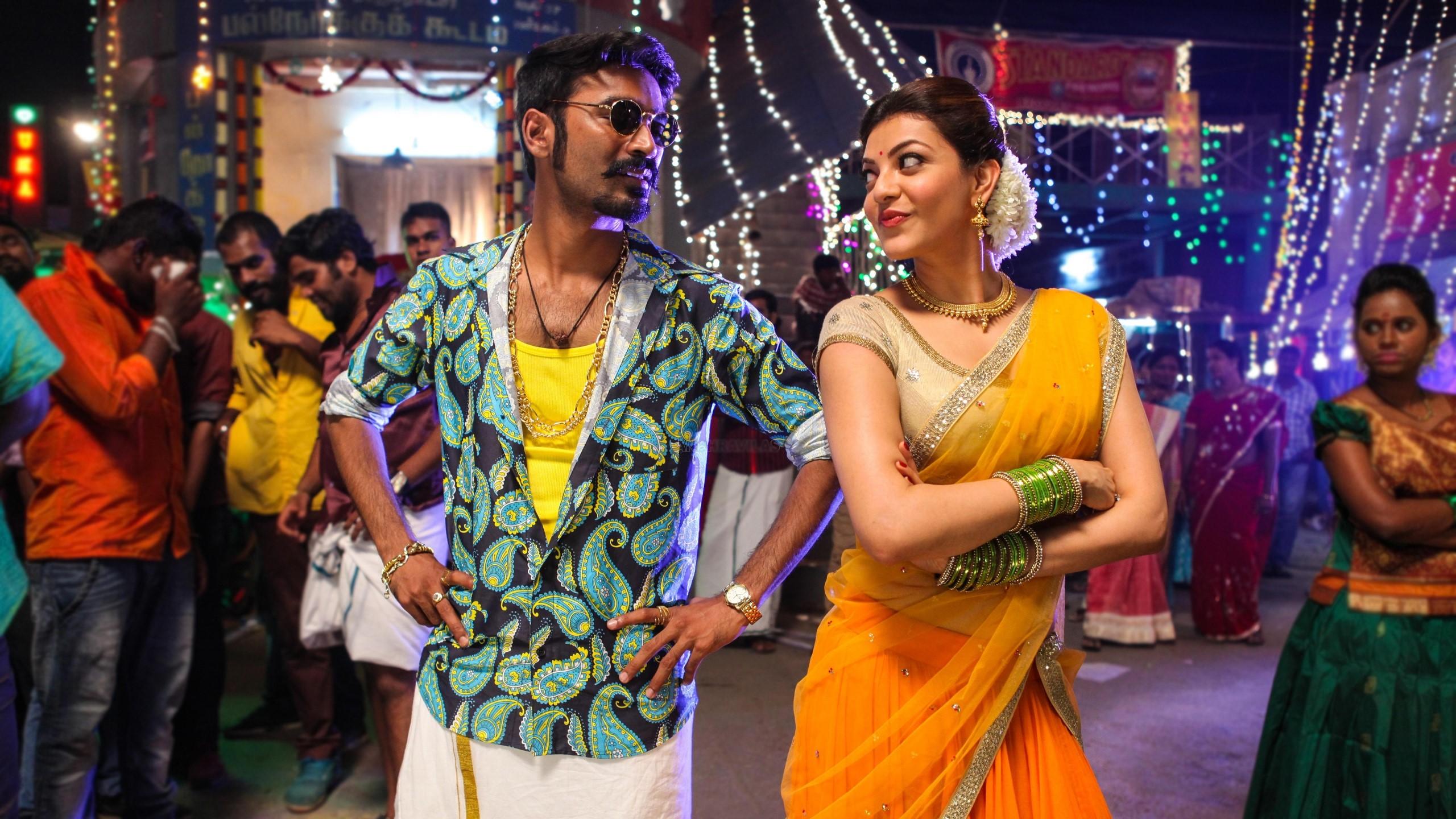 Fondos de pantalla Película de Dhanush Kajal y Marri Tamil