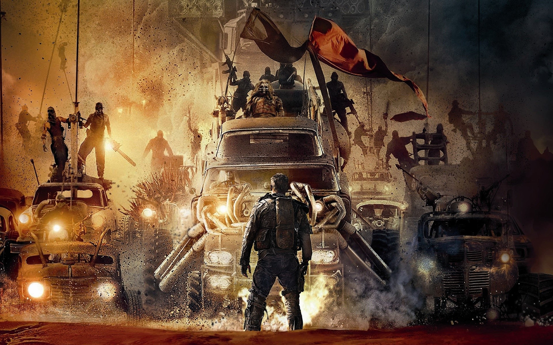 Wallpaper Mad Max Fury Road movie
