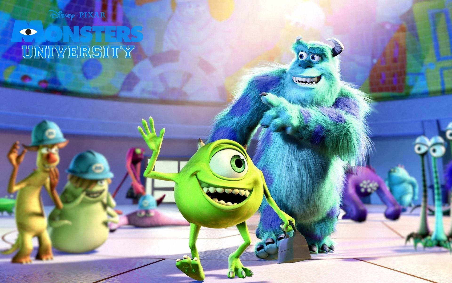 Fondos de pantalla Película Monsters university