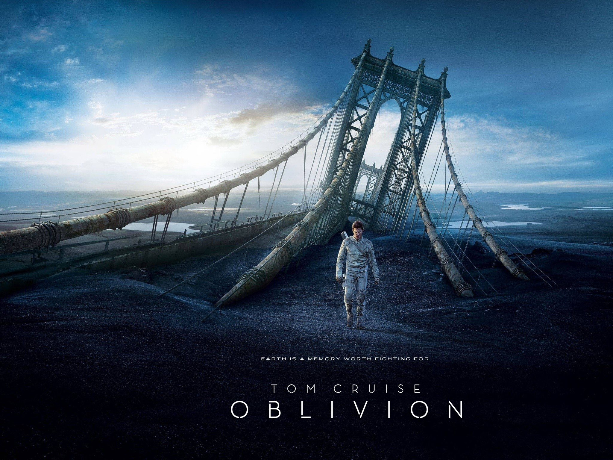 Wallpaper Oblivion movie