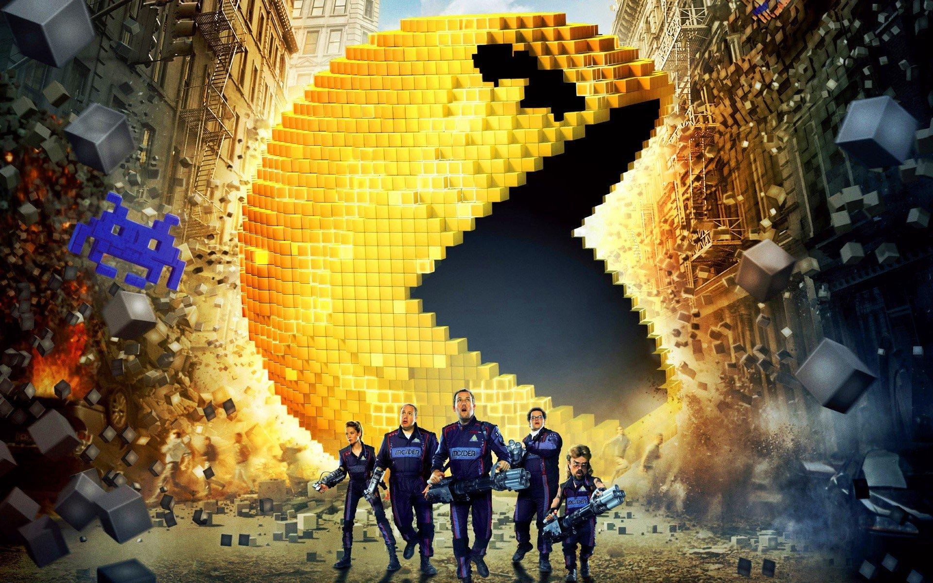 Wallpaper Pixels movie