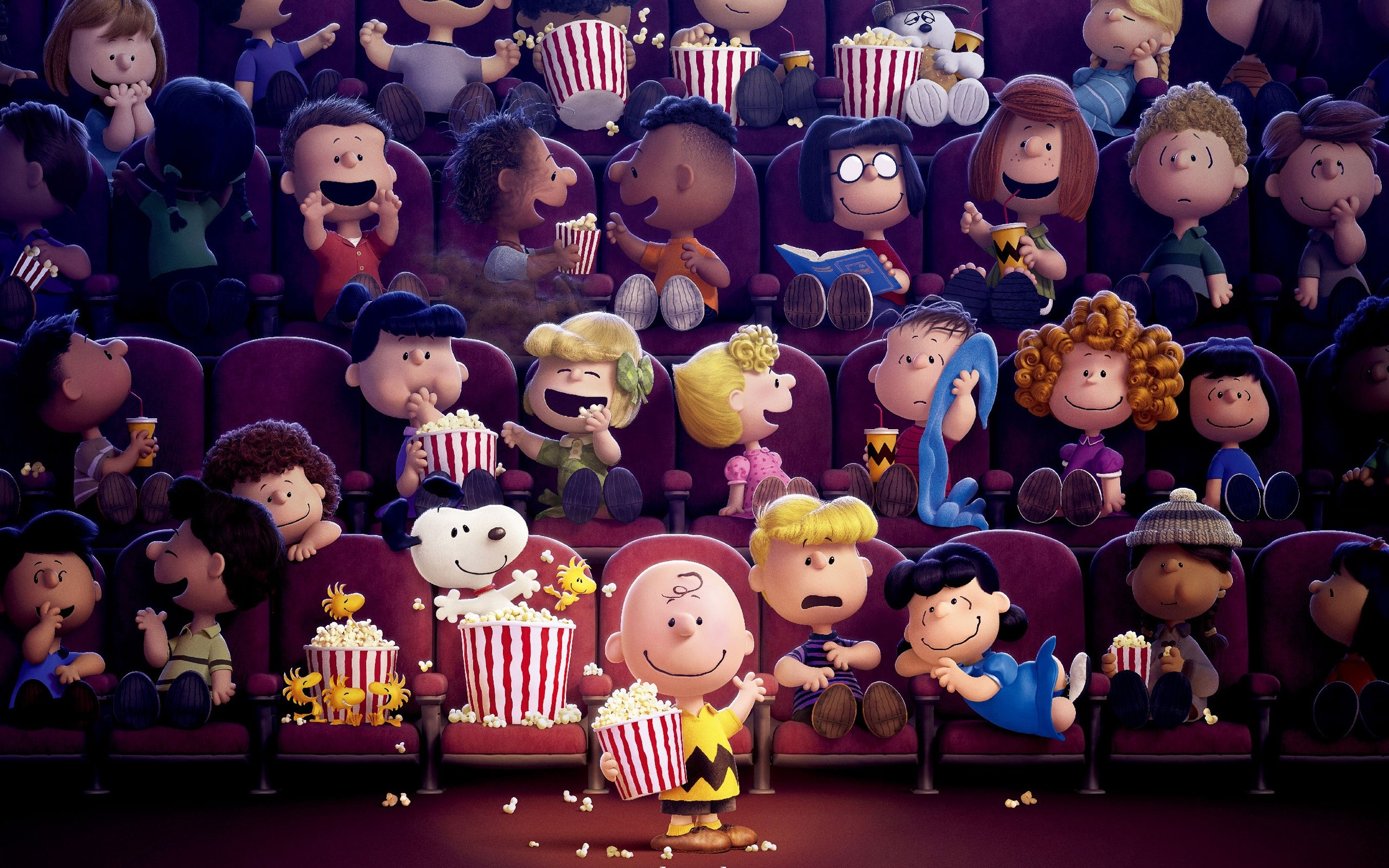 Wallpaper Movie Snoopy and Charlie Brown: Peanuts