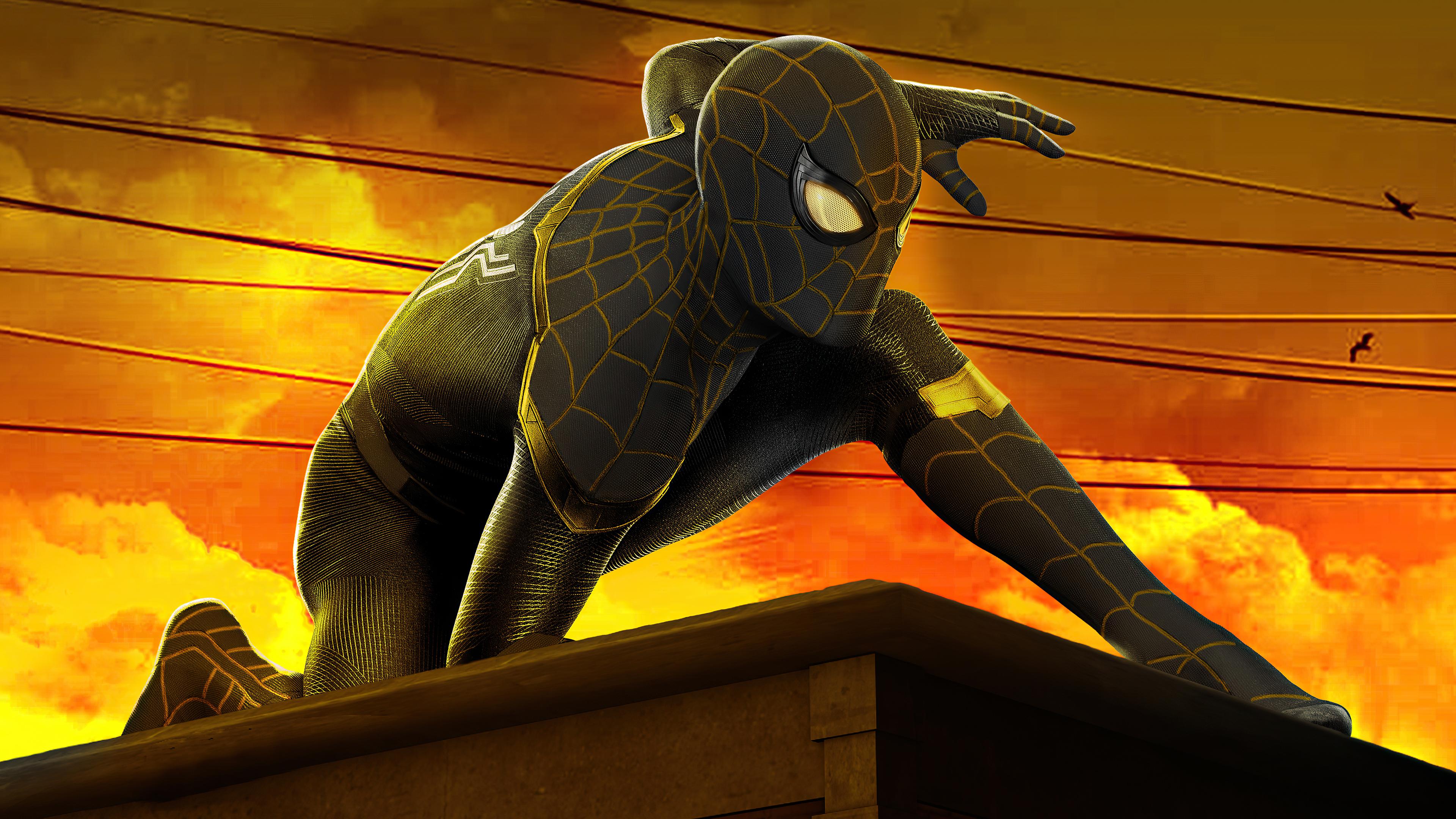 Wallpaper Spider Man No Way Home Movie