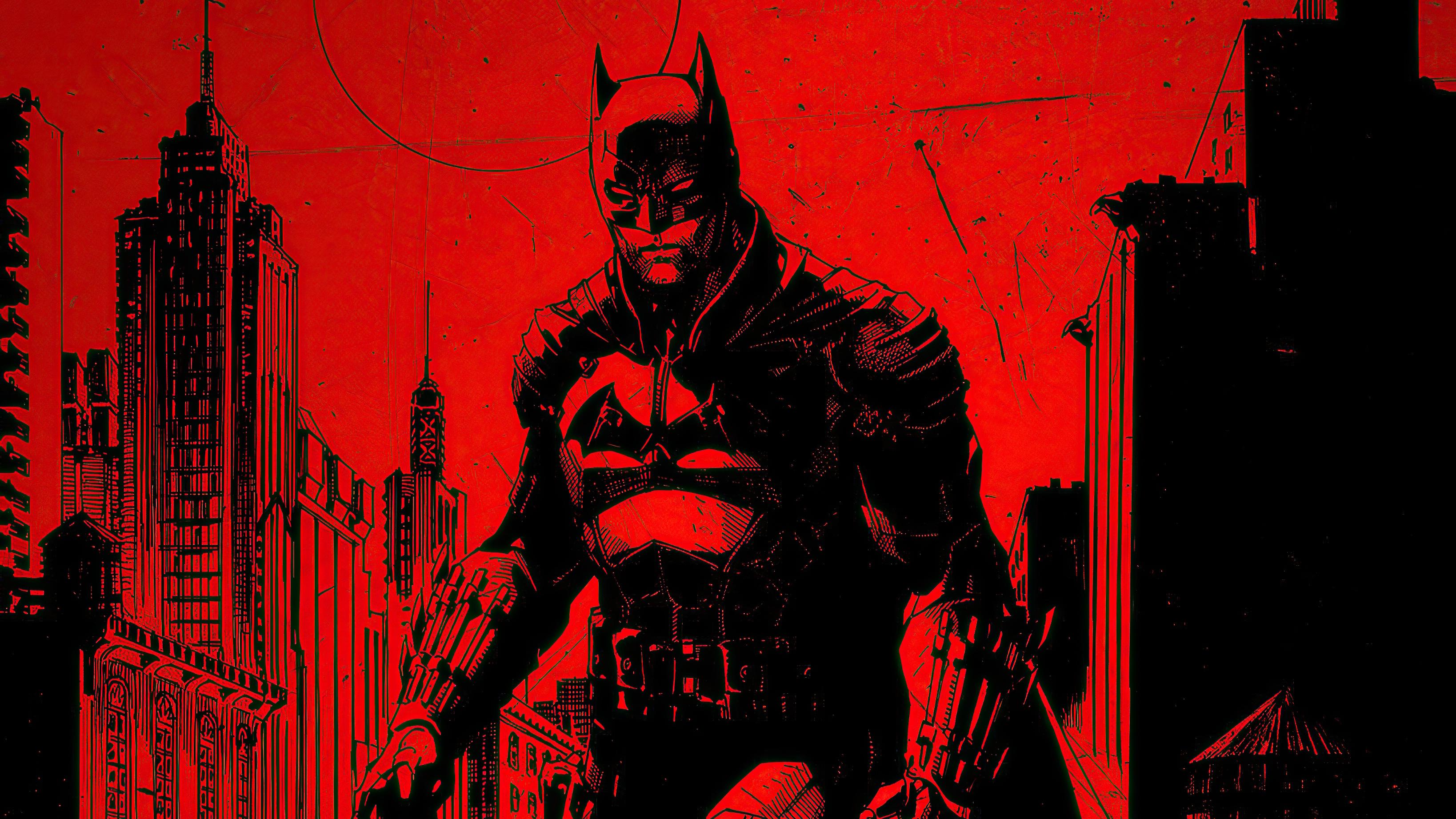 Wallpaper The Batman 2021 Movie