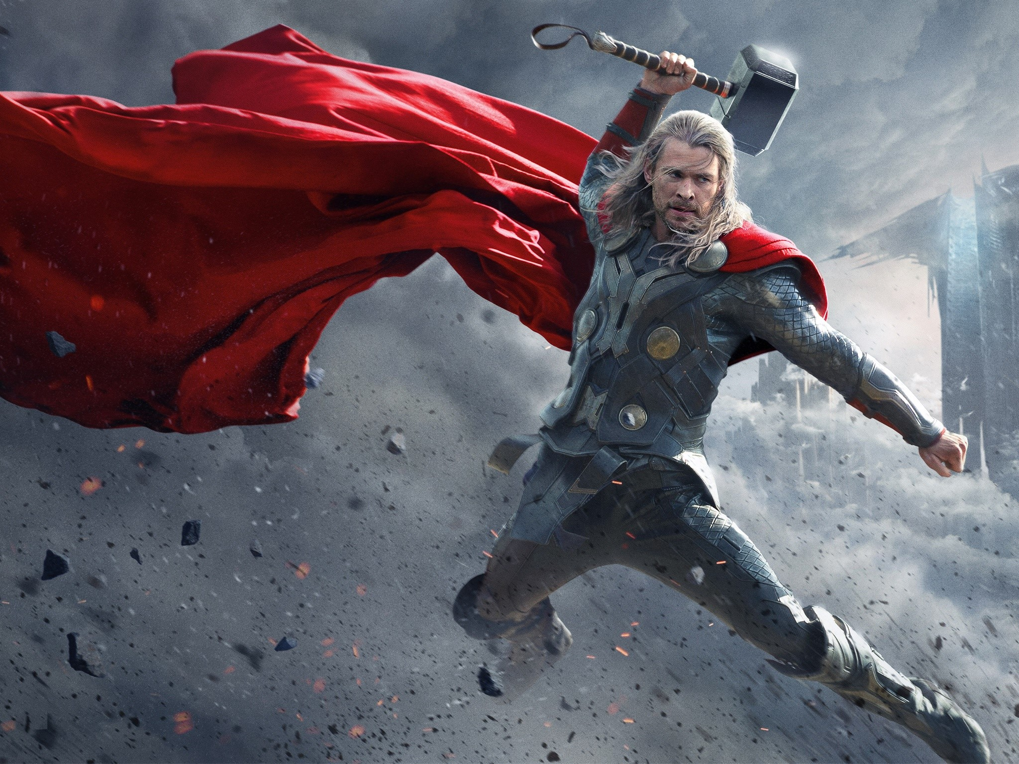 Wallpaper Thor 2 movie