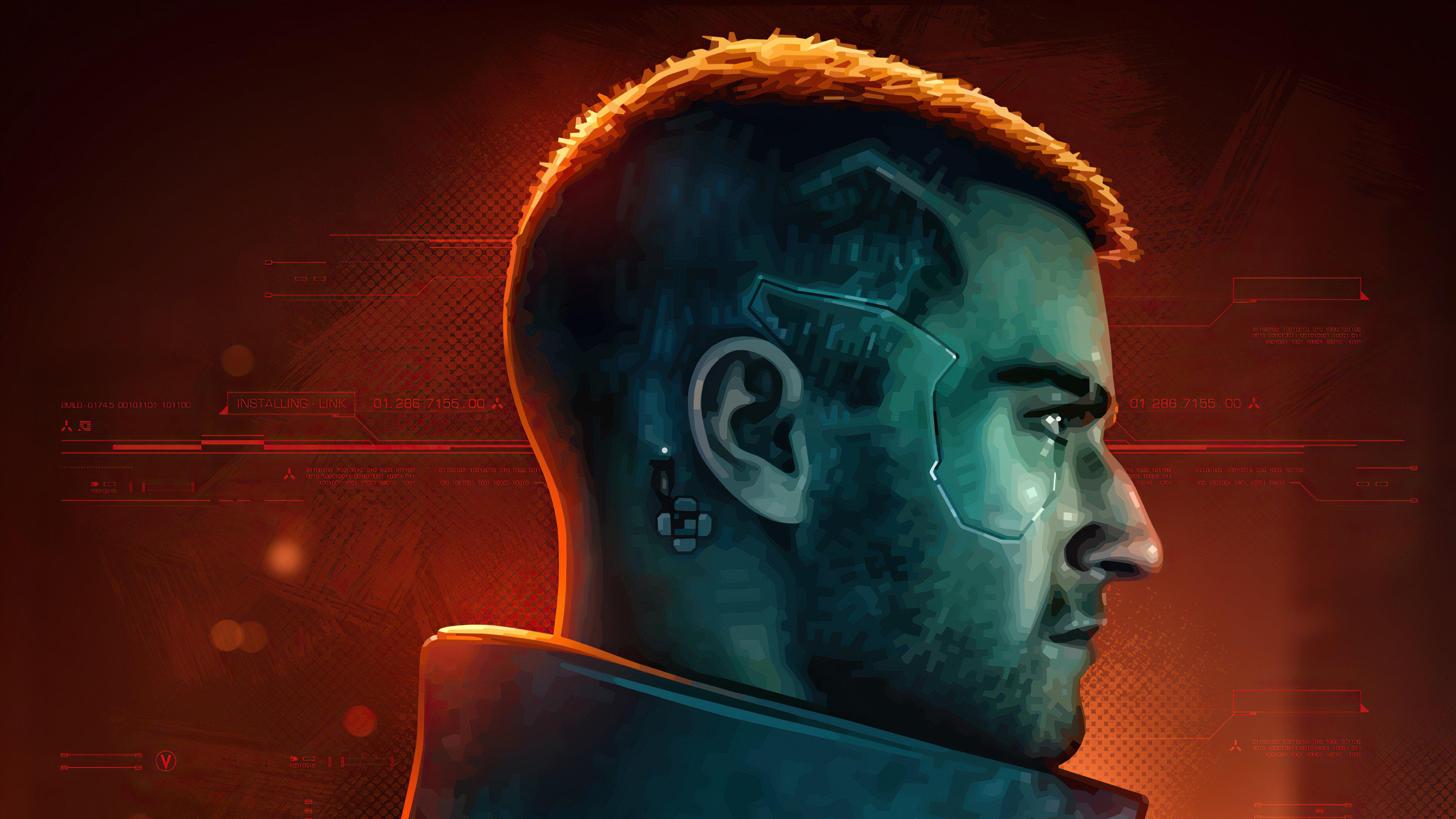 Wallpaper Character from Cyberpunk 2077