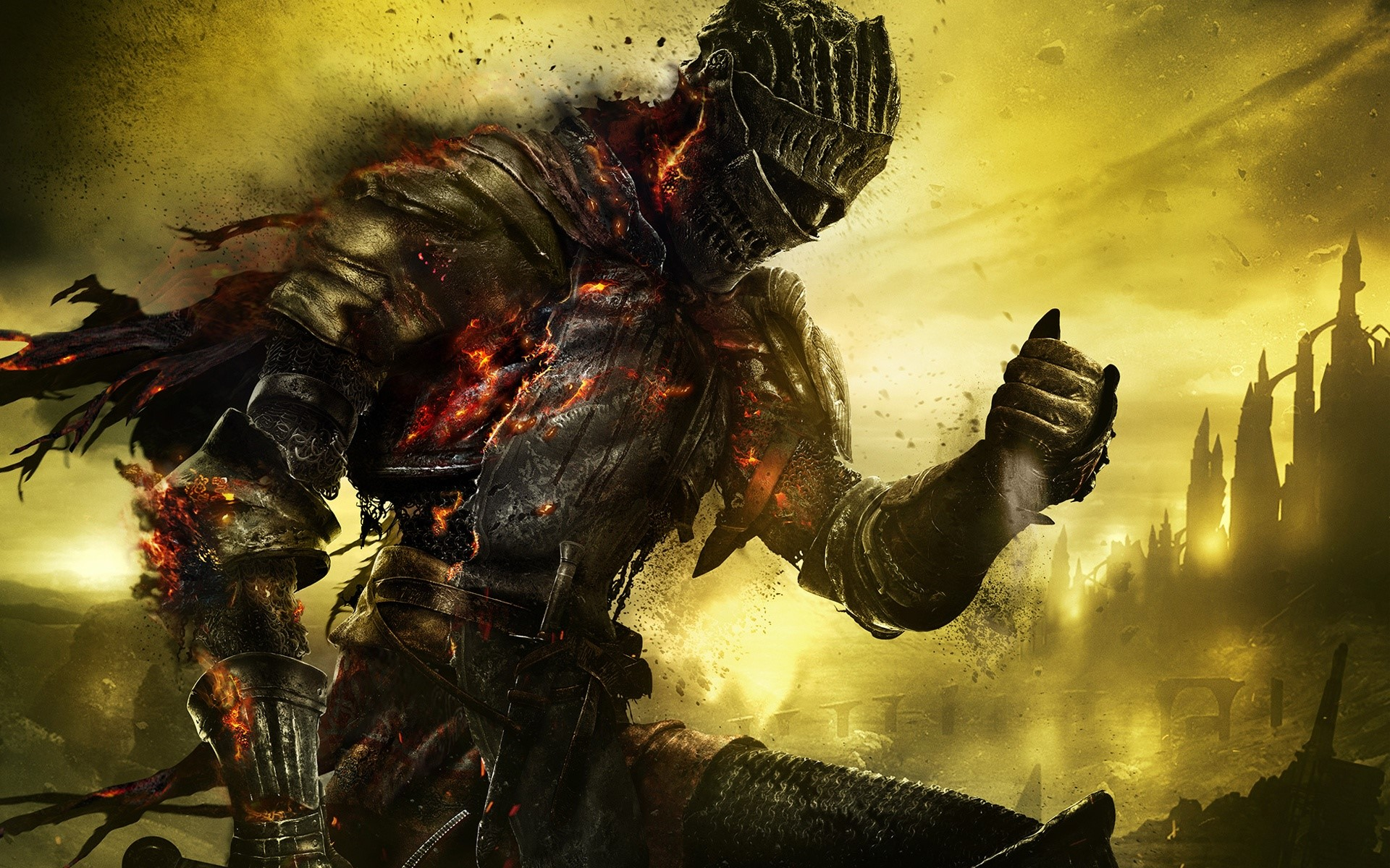 Wallpaper Character of Dark souls 3