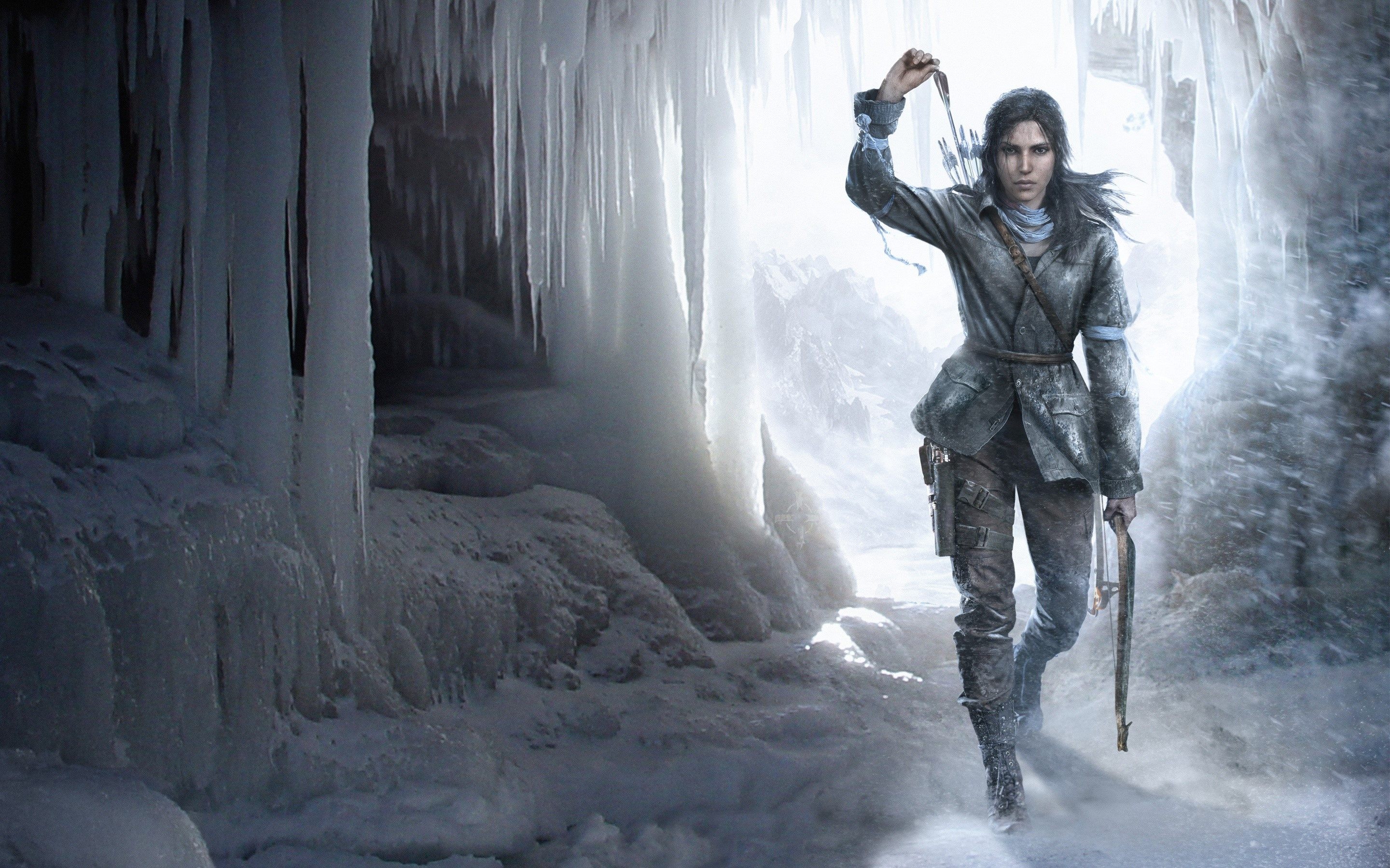Wallpaper Rise of the Tomb Raider character