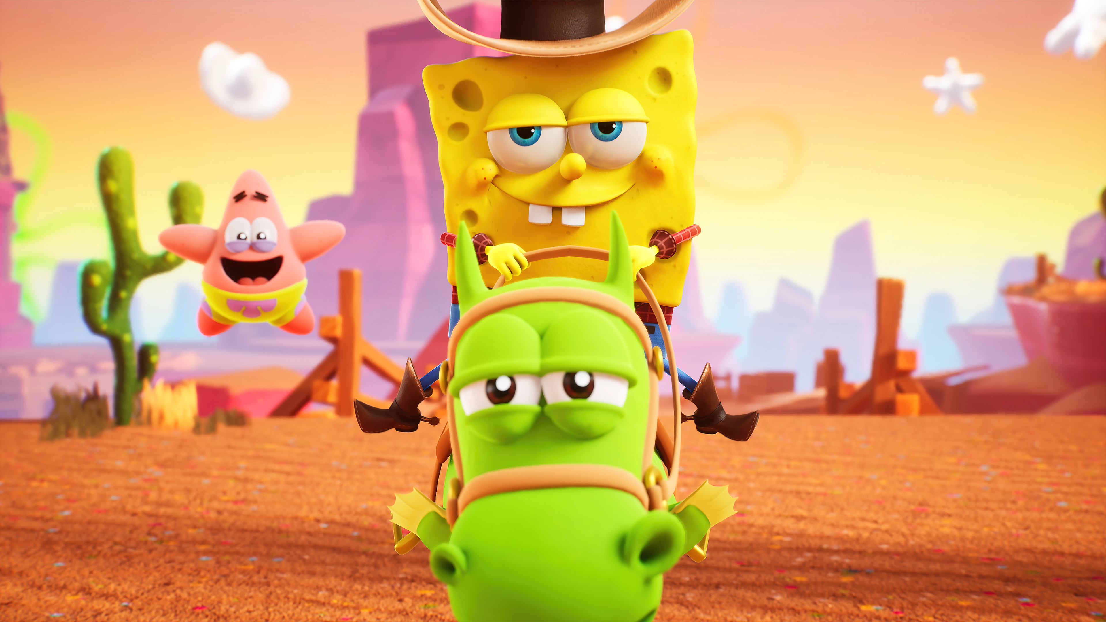 Wallpaper Spongebob Squarepants The cosmic shake characters