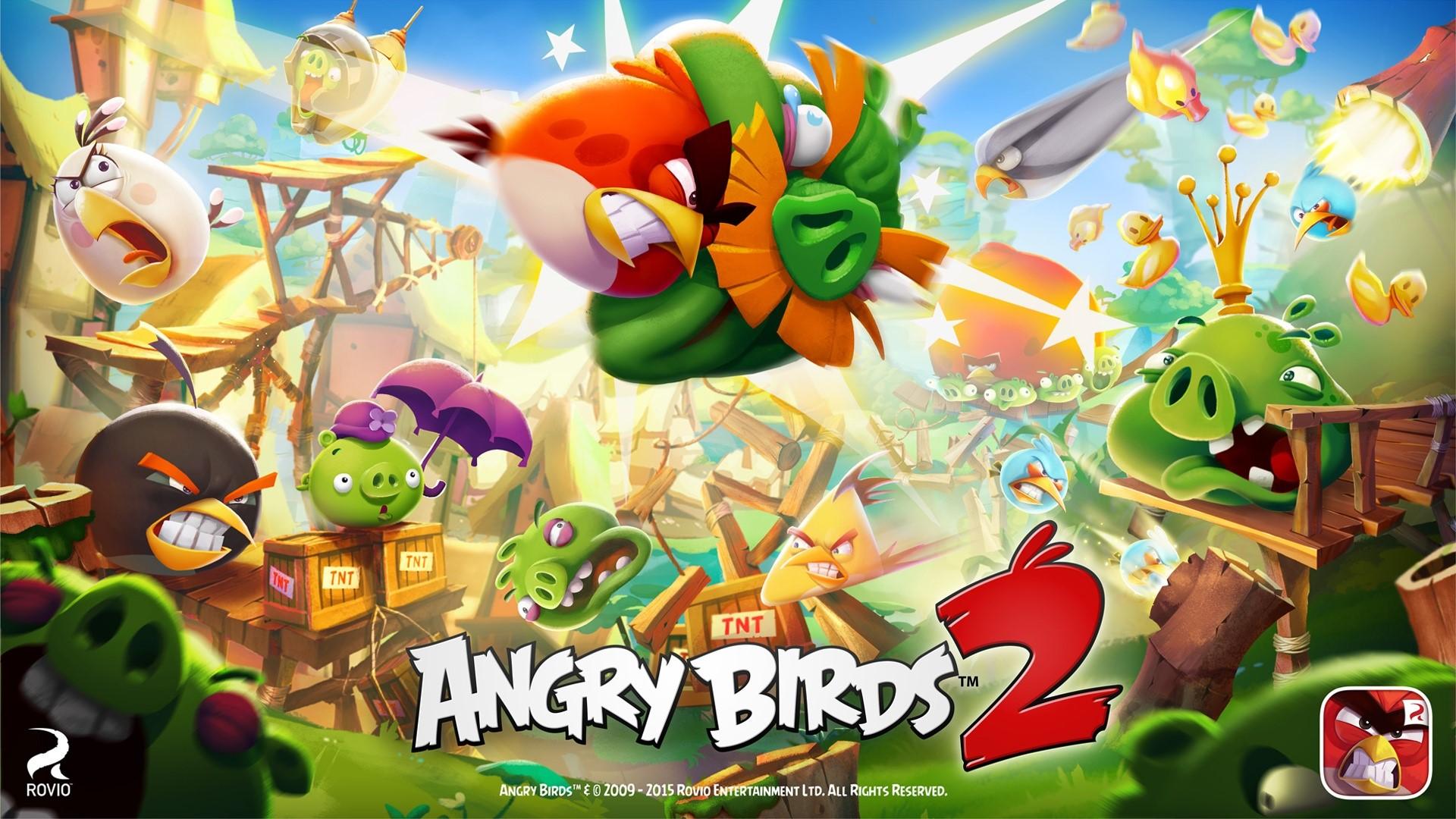 Fondos de pantalla Personajes de Angry Birds 2