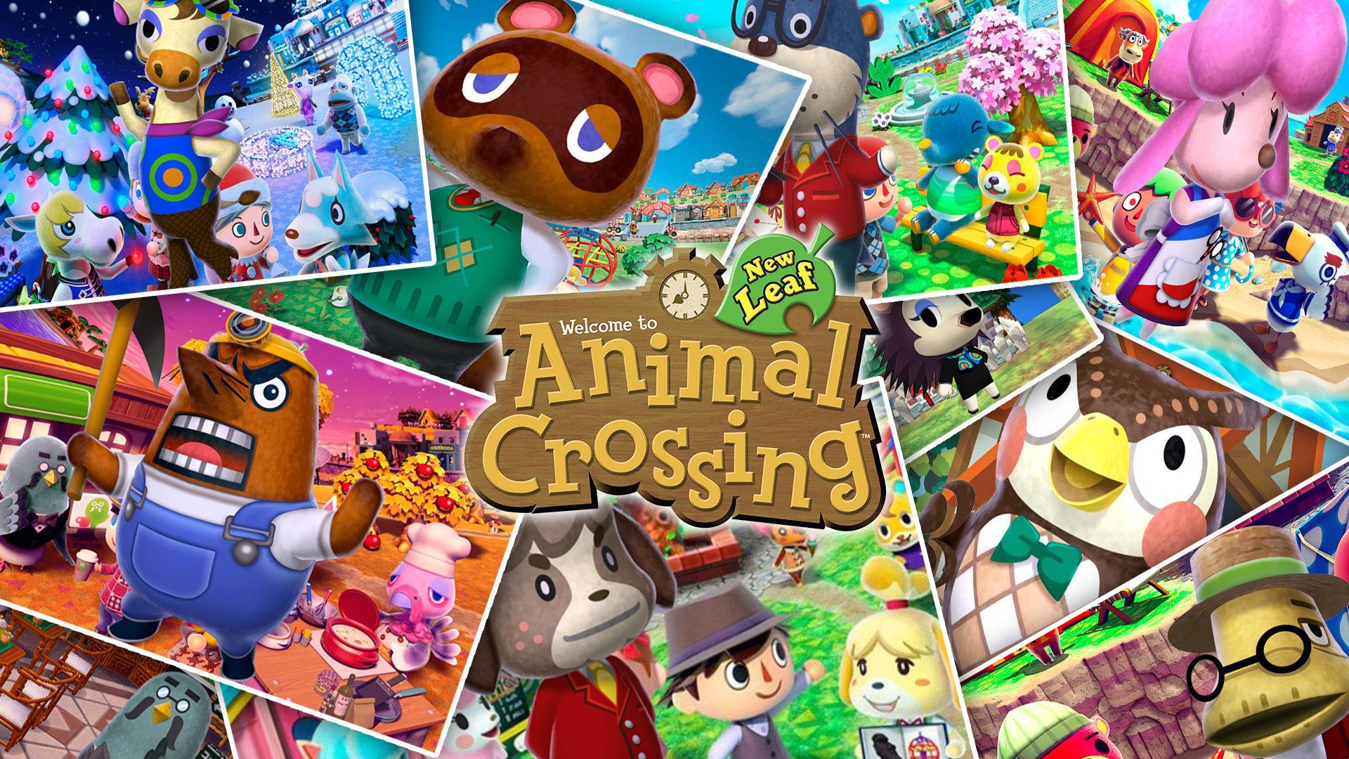 Fondos de pantalla Personajes de Animal Crossing