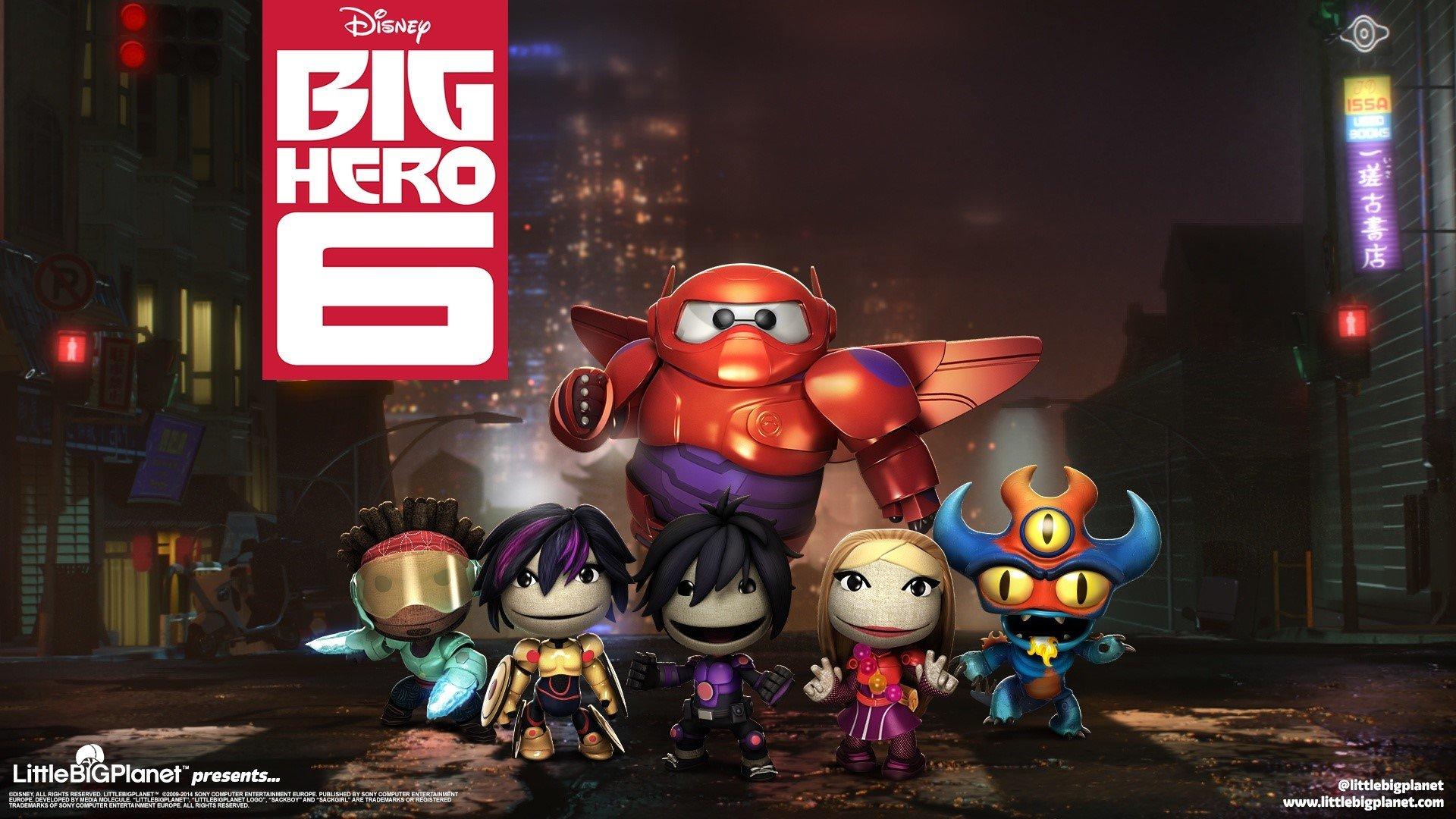 Fondo de pantalla de Personajes de Big Hero como Littlebigplanet Imágenes