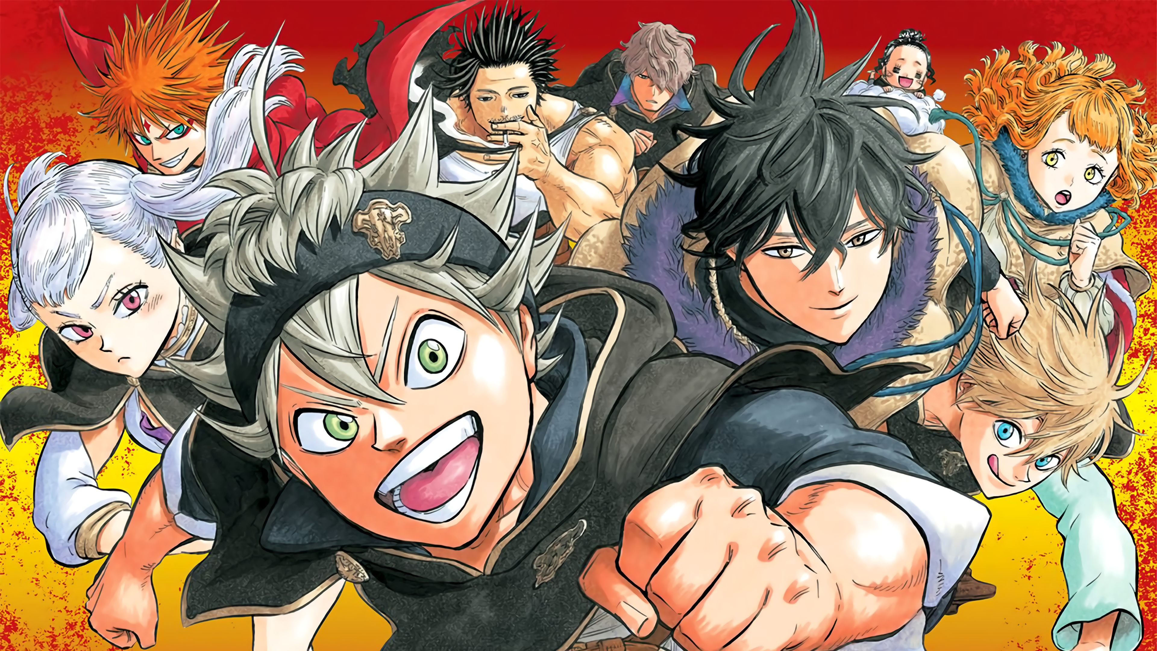 Anime Wallpaper Characters from Black Clover