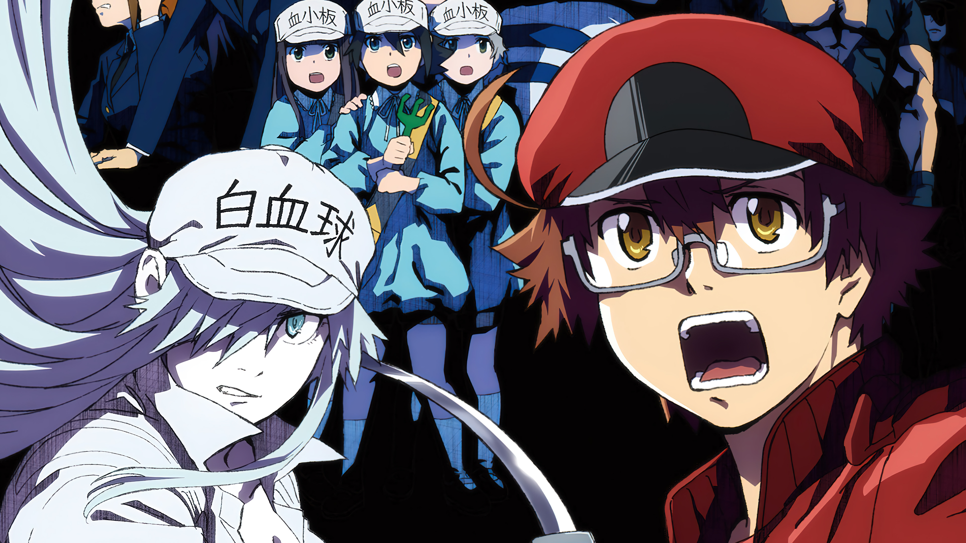 Anime Wallpaper Characters from Cells at work: Code Black