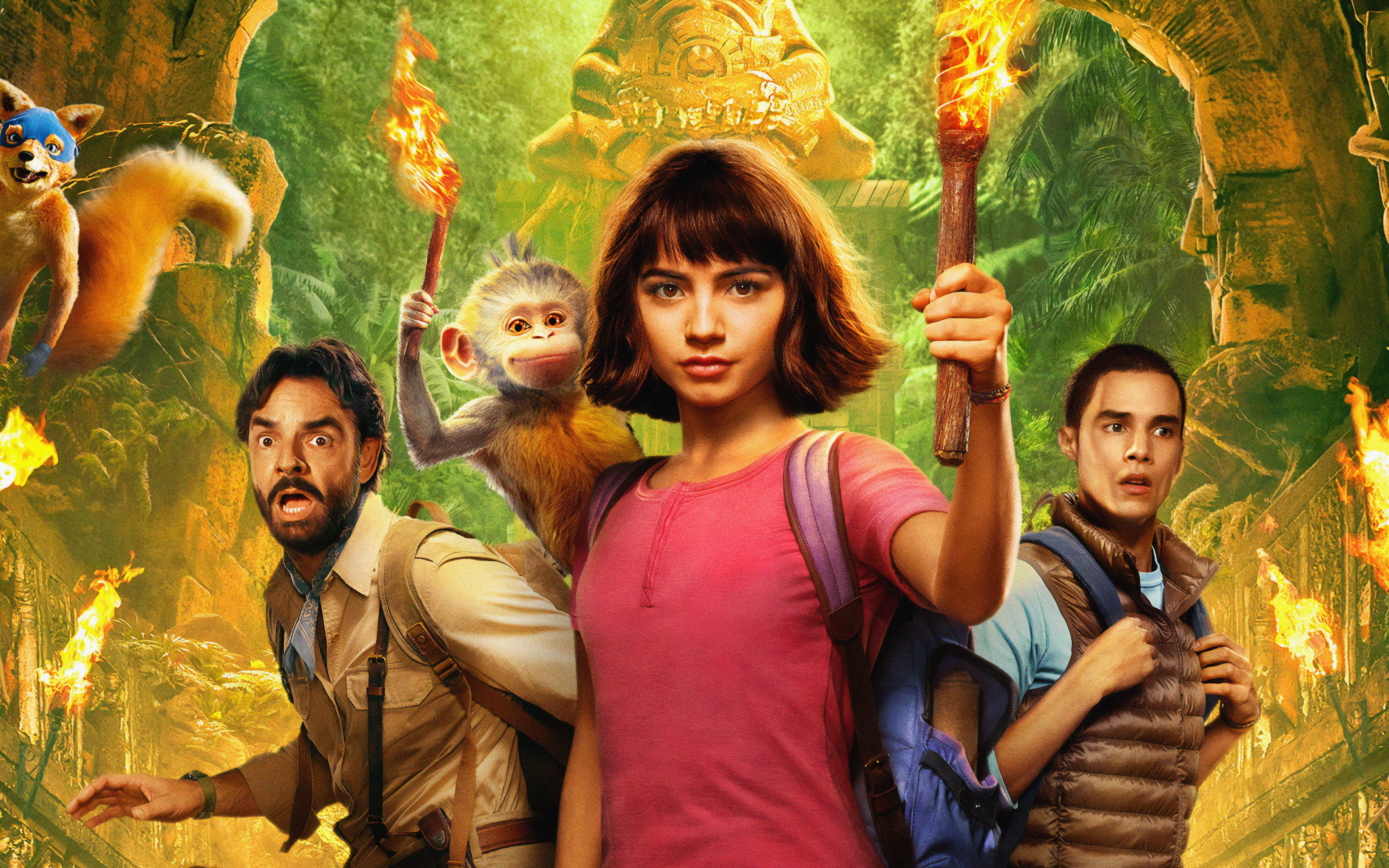 Fondos de pantalla Personajes de Dora y la ciudad perdida
