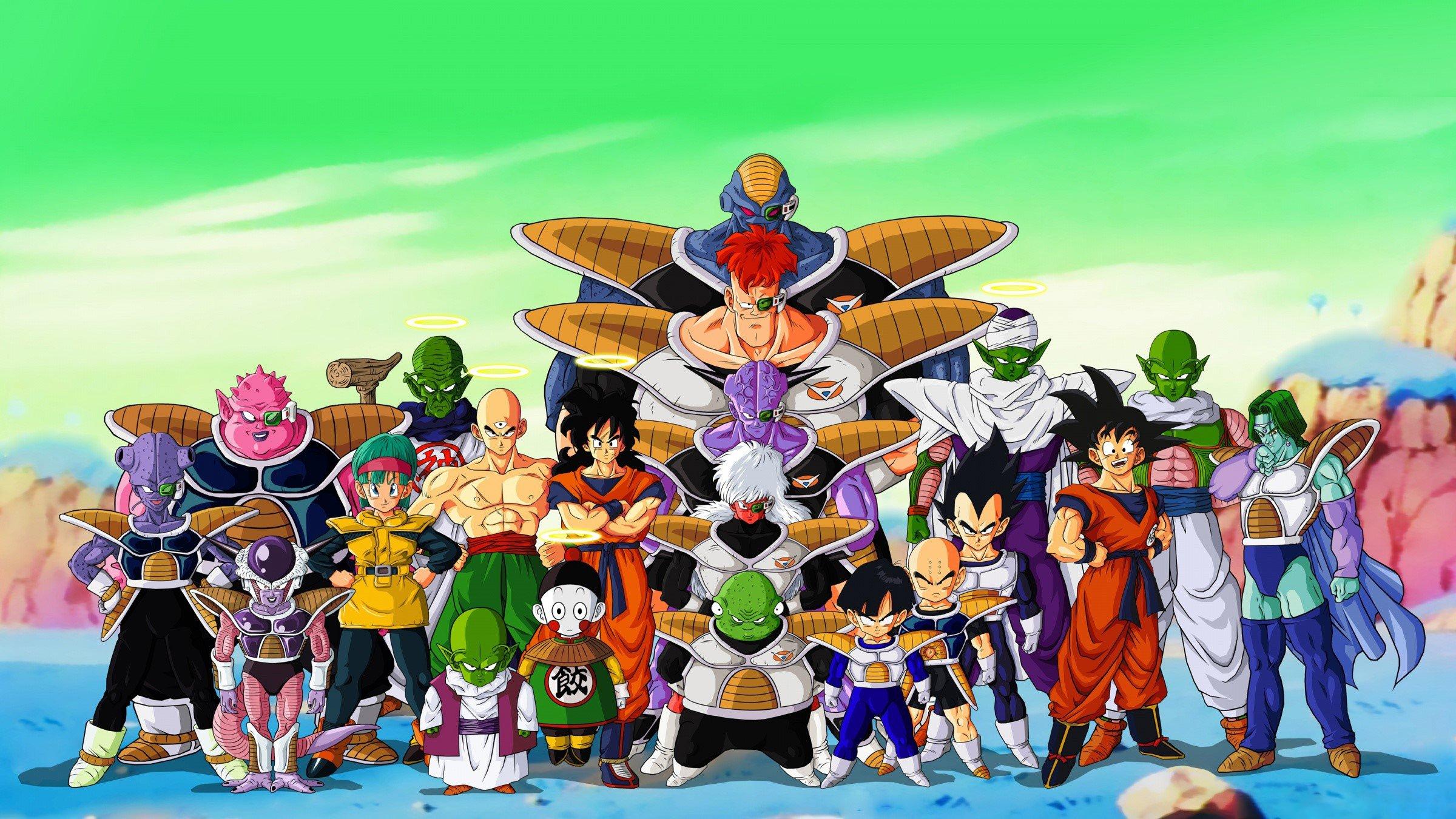 Fondo de pantalla de Personajes de Dragon Ball Z Imágenes